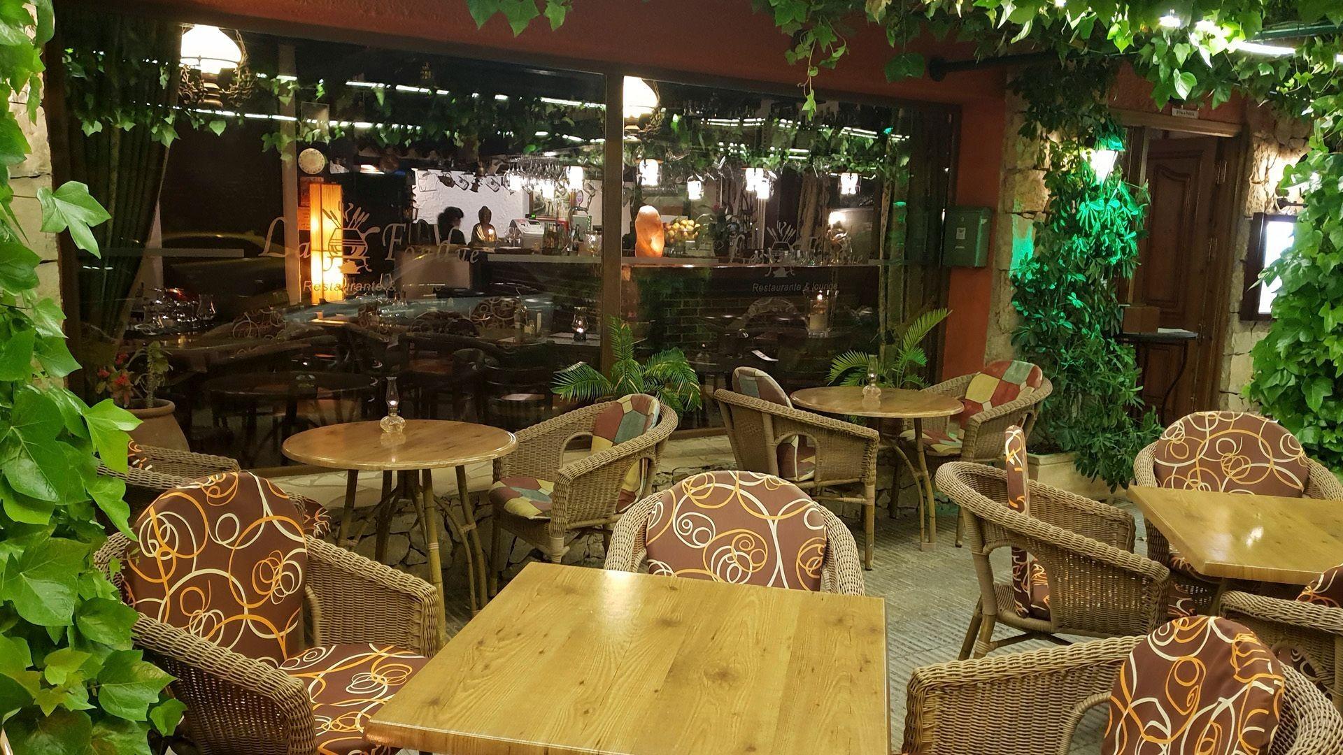Restaurante con terraza en Denia