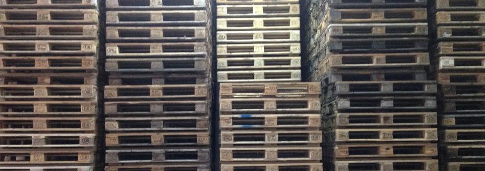 Compra venta de palets usados de madera