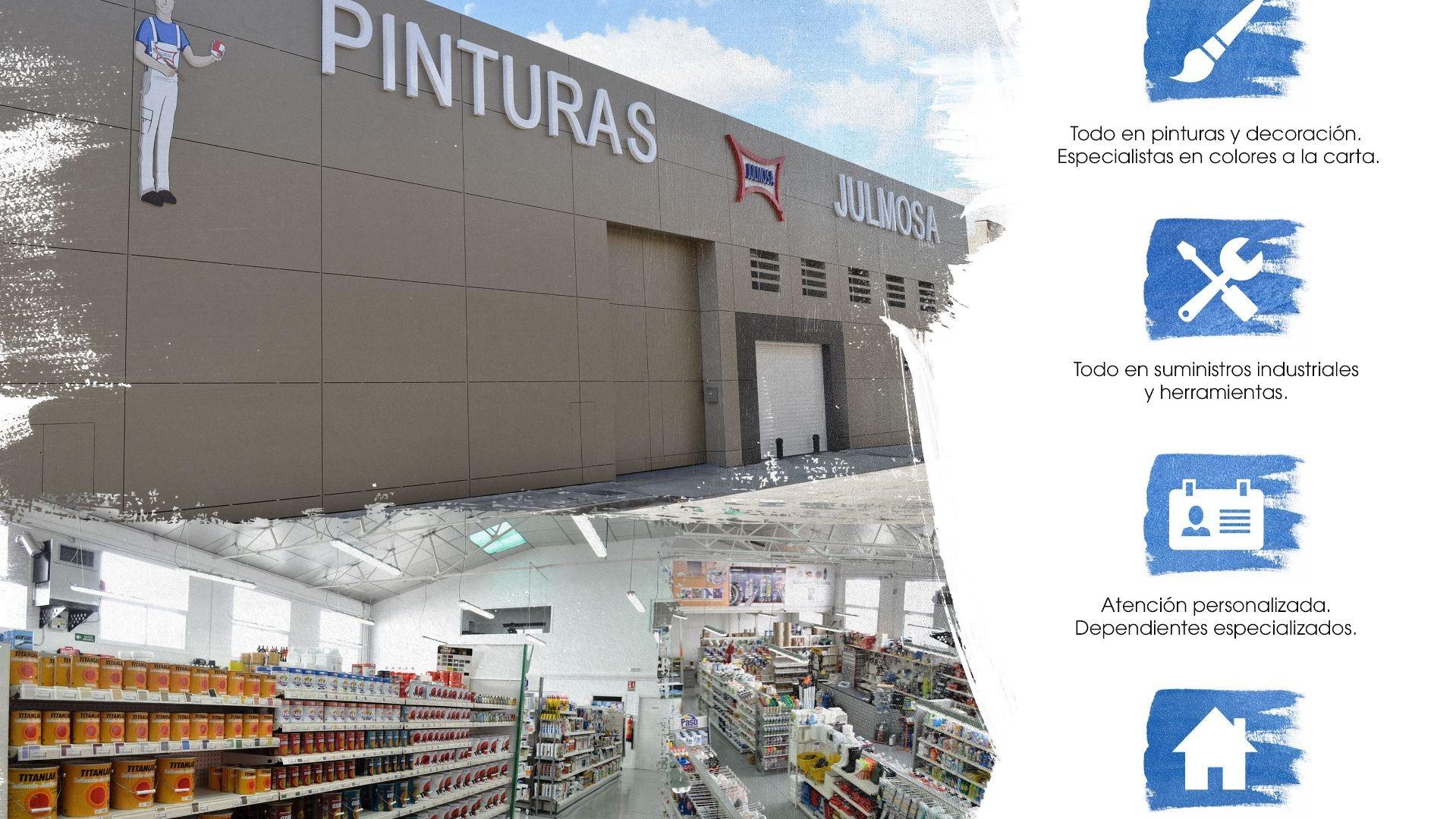 Tienda de pinturas en Fuenlabrada - Madrid