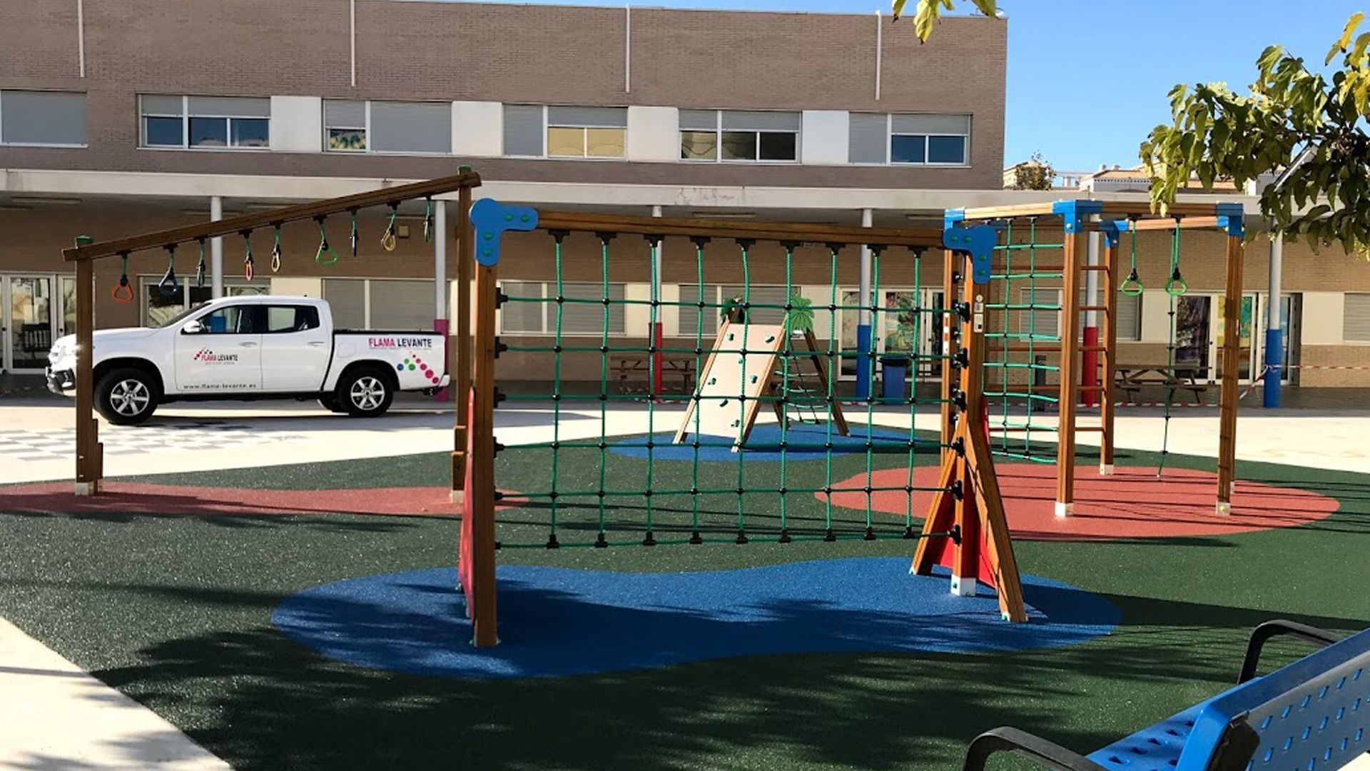 Parques infantiles en Alicante