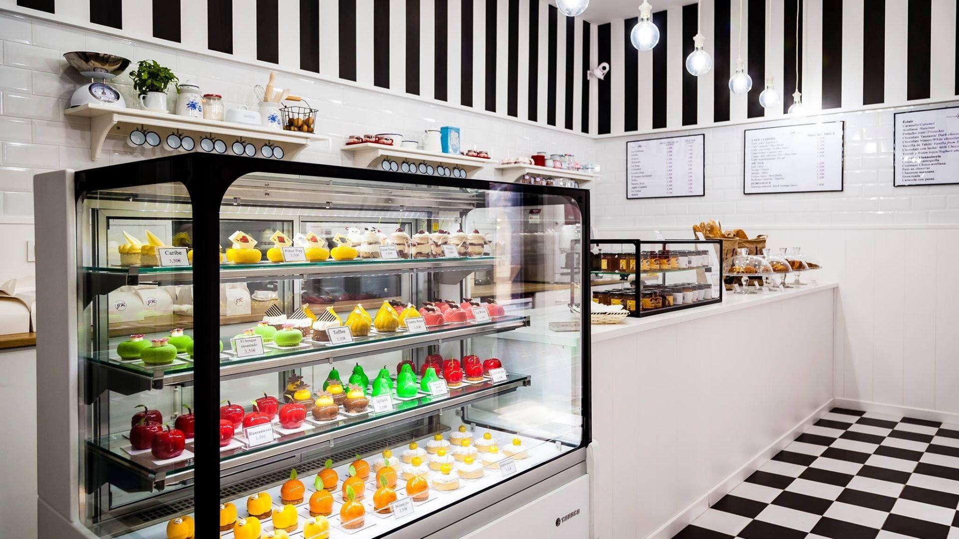 Interior Pastelería Creativa Javier Ramos