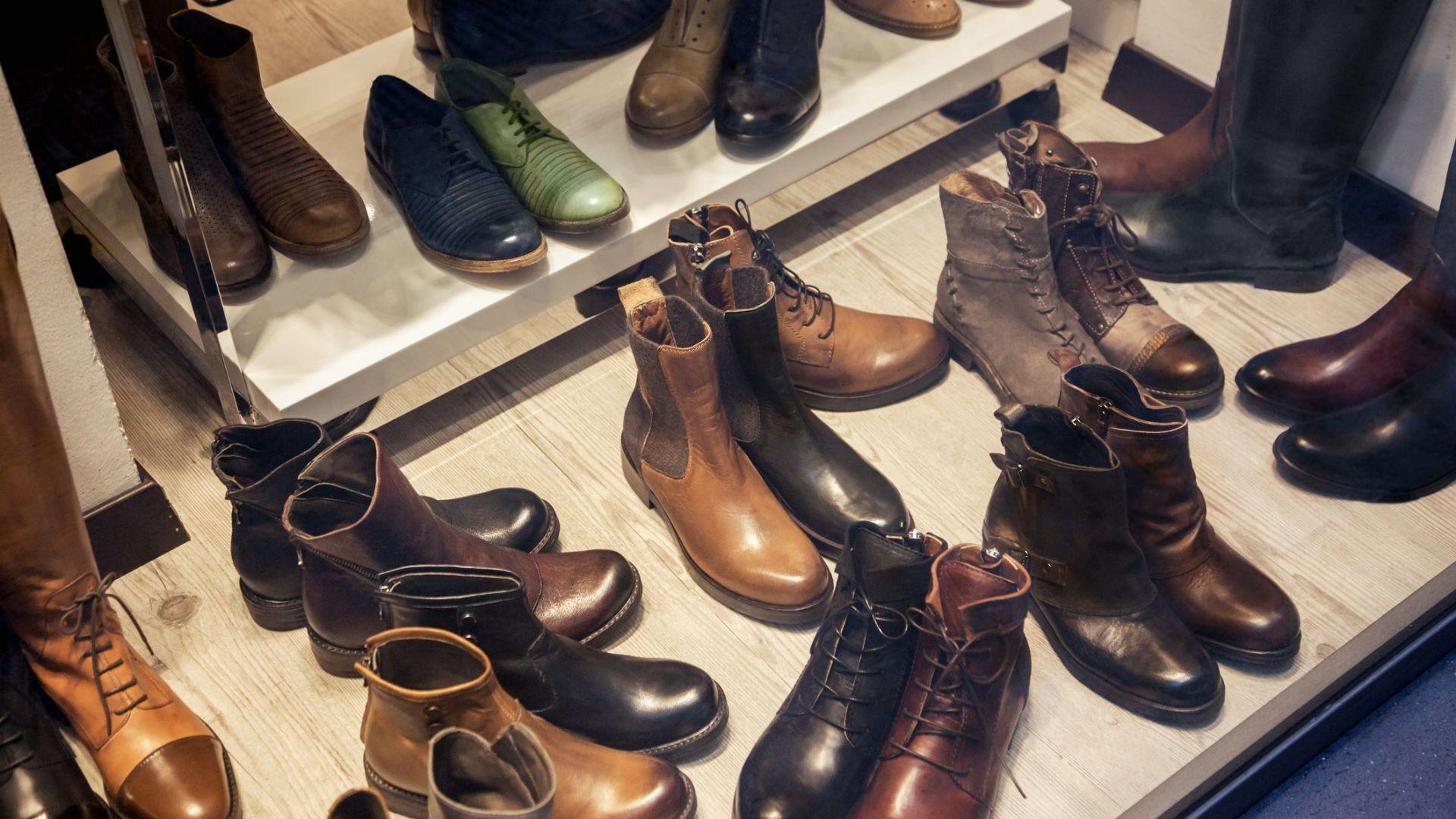 Tienda de zapatos en Murcia