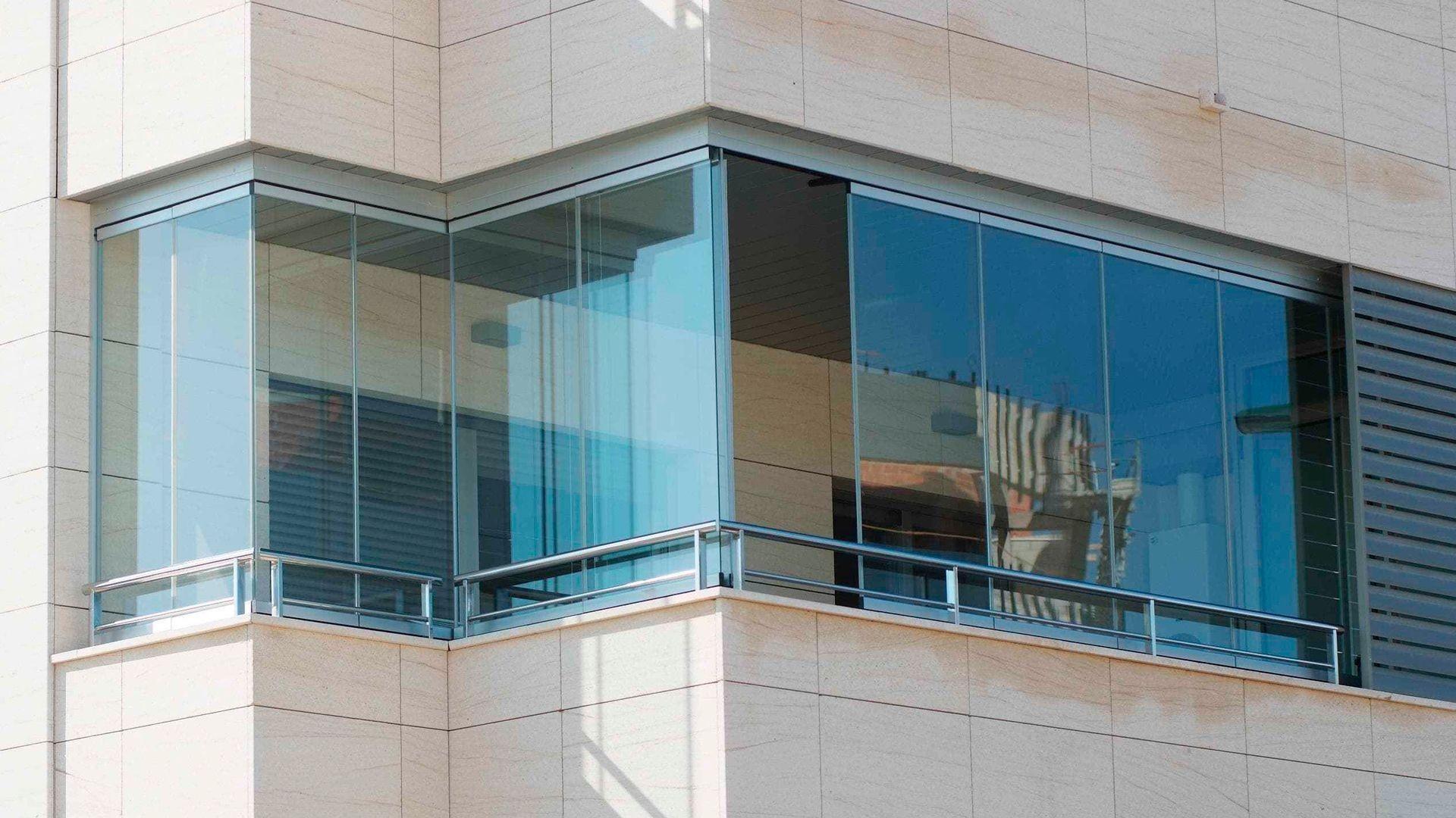Cerramientos de cristal en Gijón