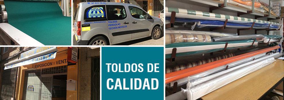 Instalación de toldos en Leganés | Toldos Alcorcón