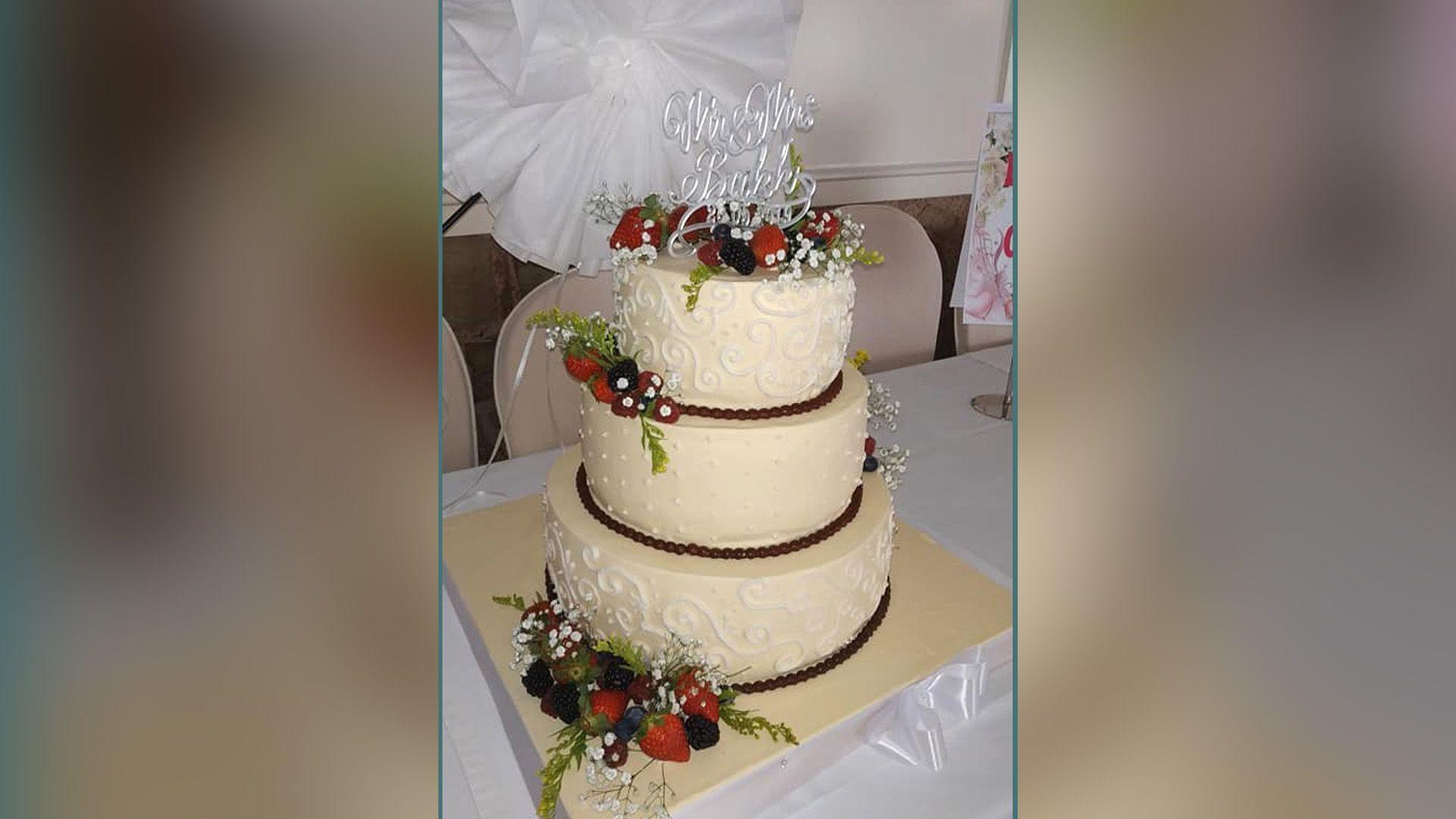 Tartas de boda por encargo
