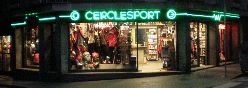 Tienda de material de escalada en Gràcia, Barcelona