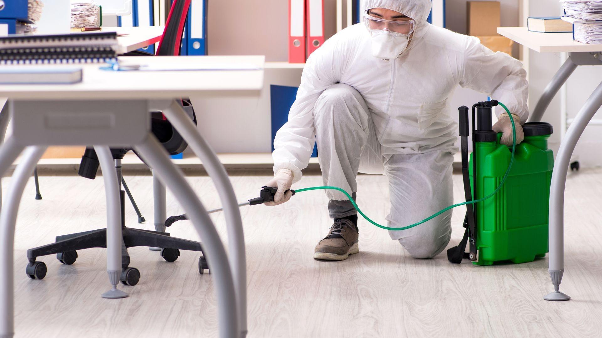 Limpieza y desinfección en Madrid