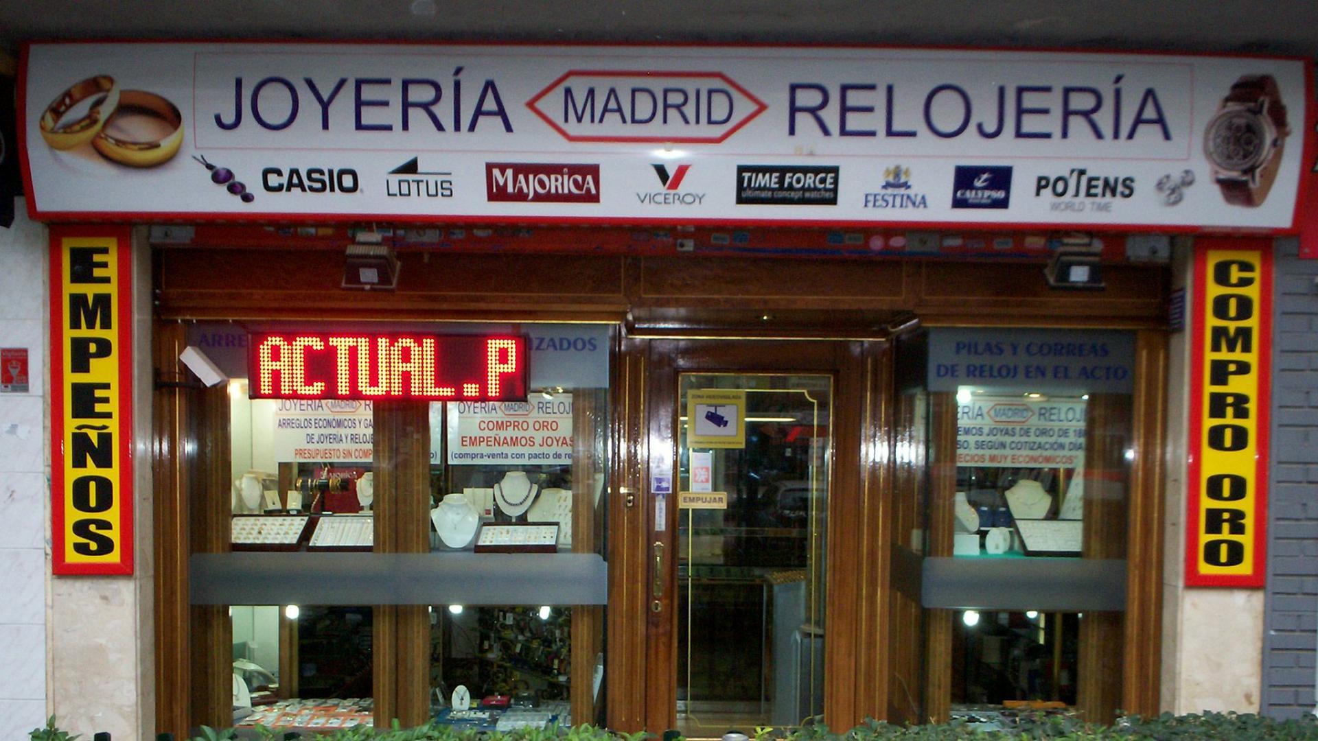 Compro Oro Torrejon De Ardoz Joyeria Madrid