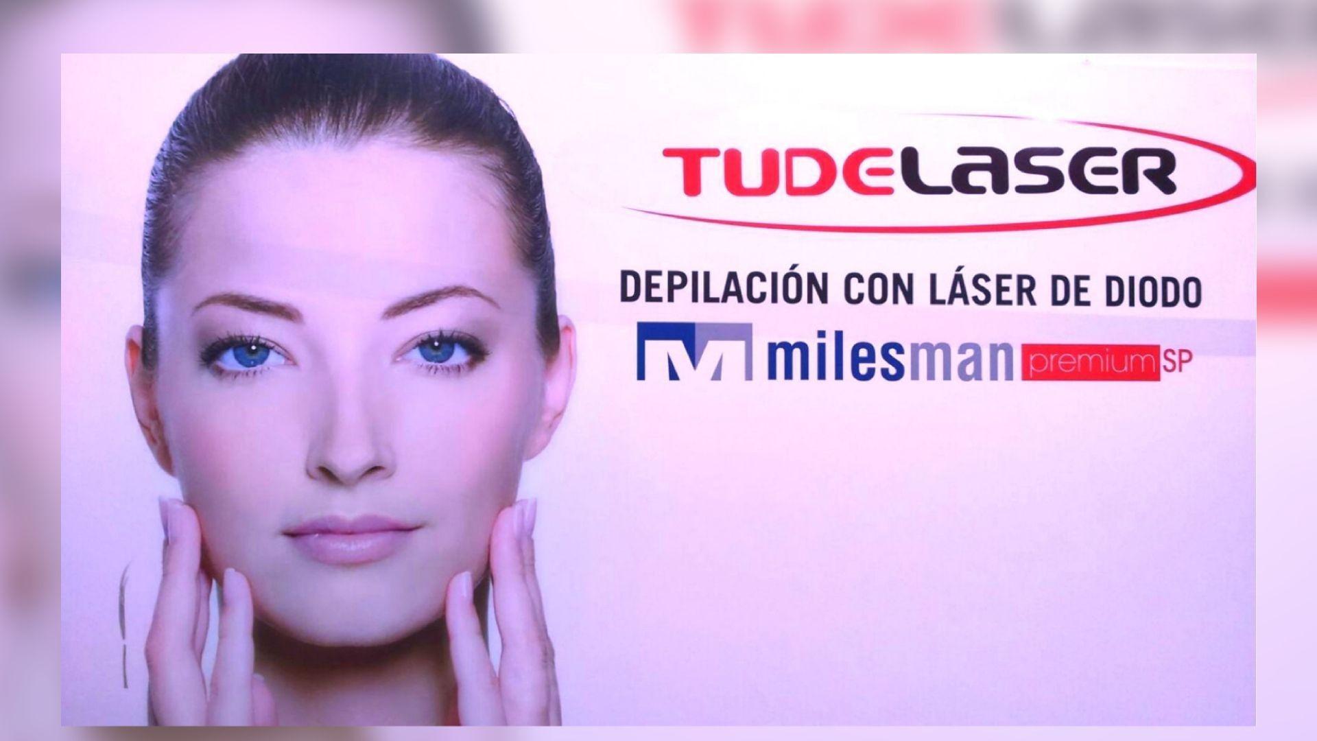 Depilación con láser de diodo en Tudela
