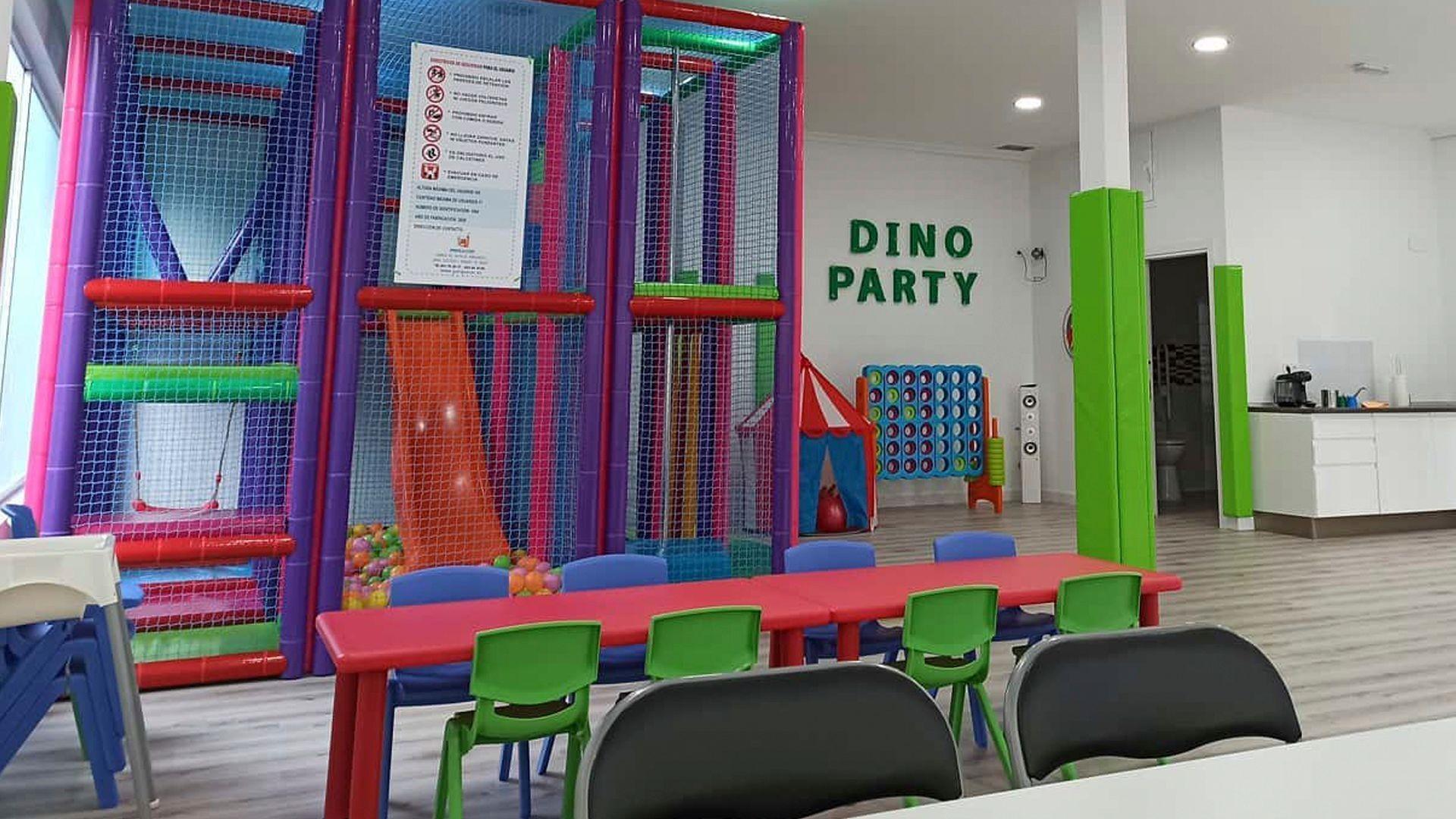 Local de celebración para niños y adultos en Carabanchel
