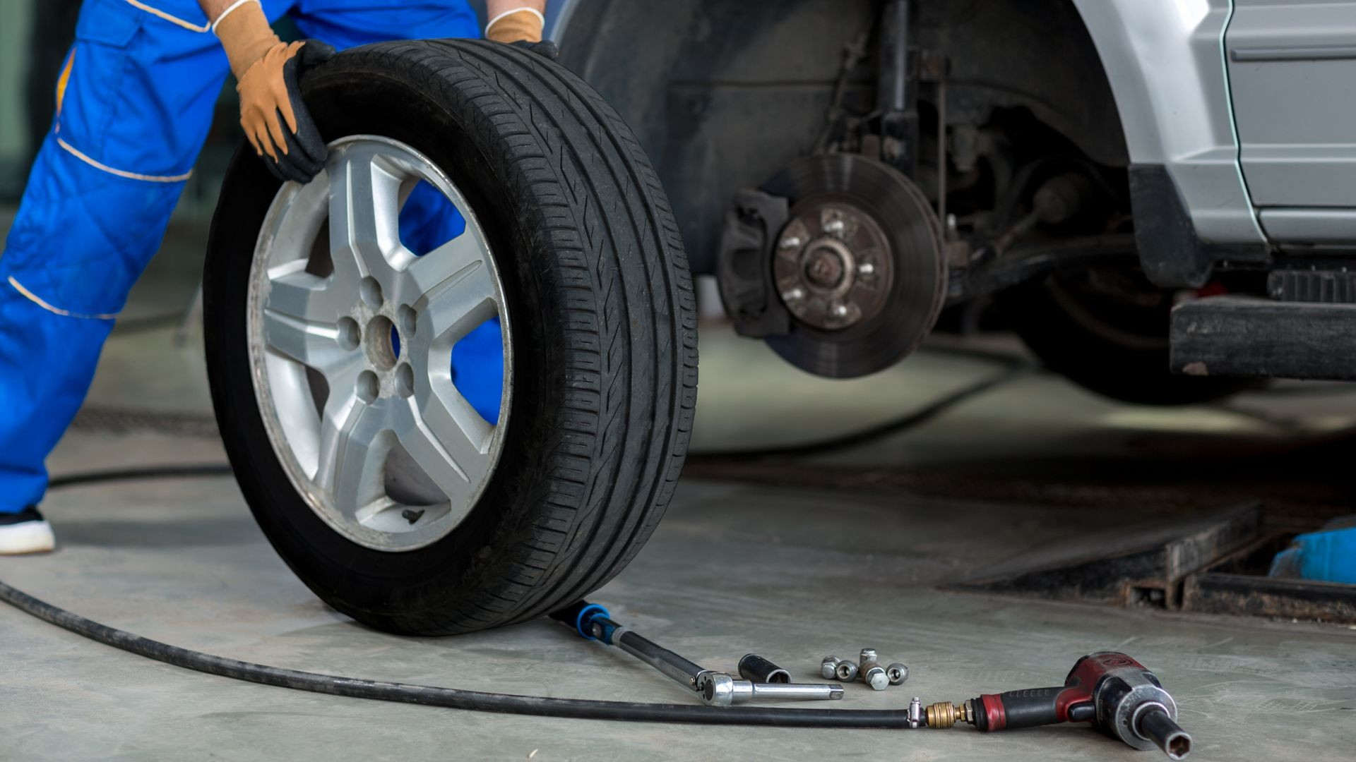Cambio de neumáticos en Madrid