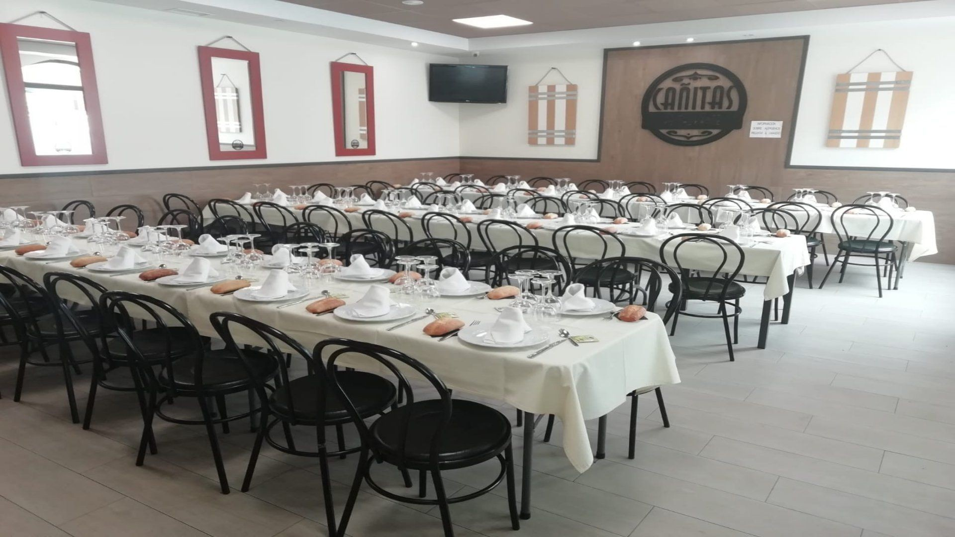 Restaurante para celebraciones en Valdepeñas