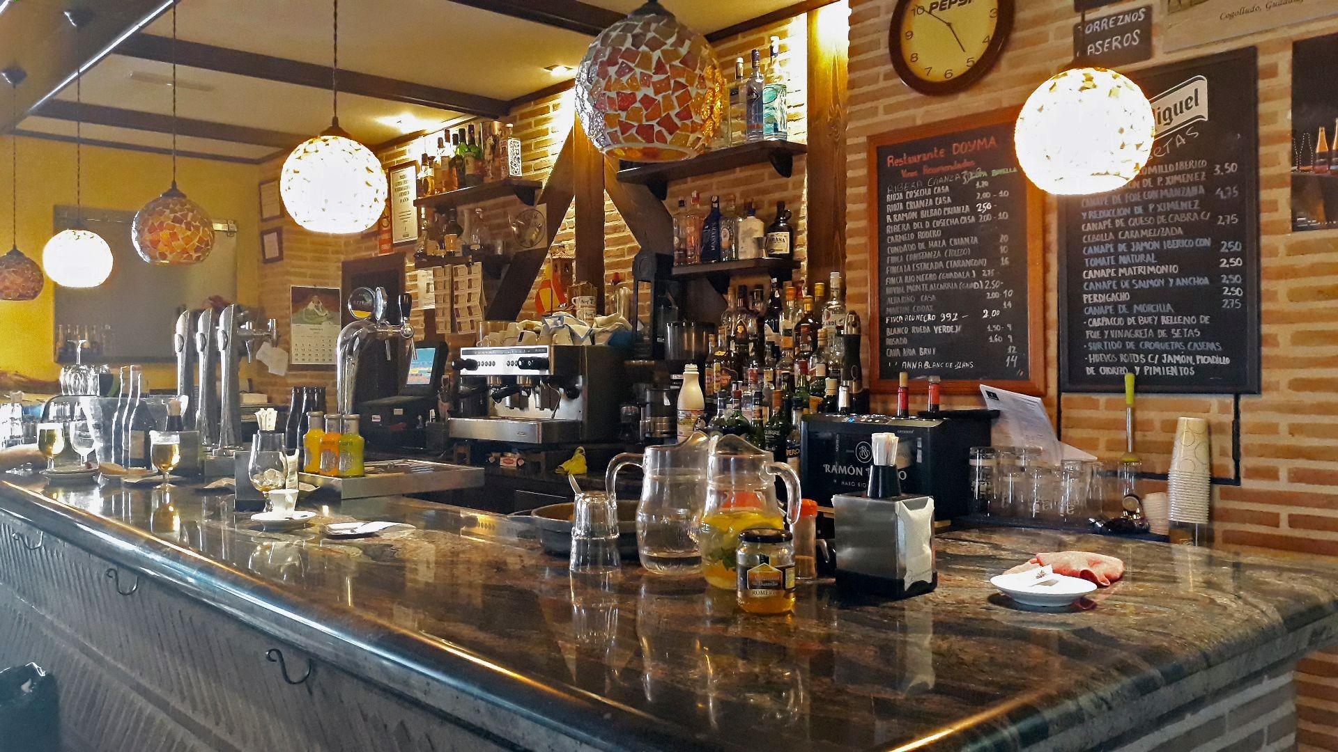Restaurante de comida casera en Marchamalo