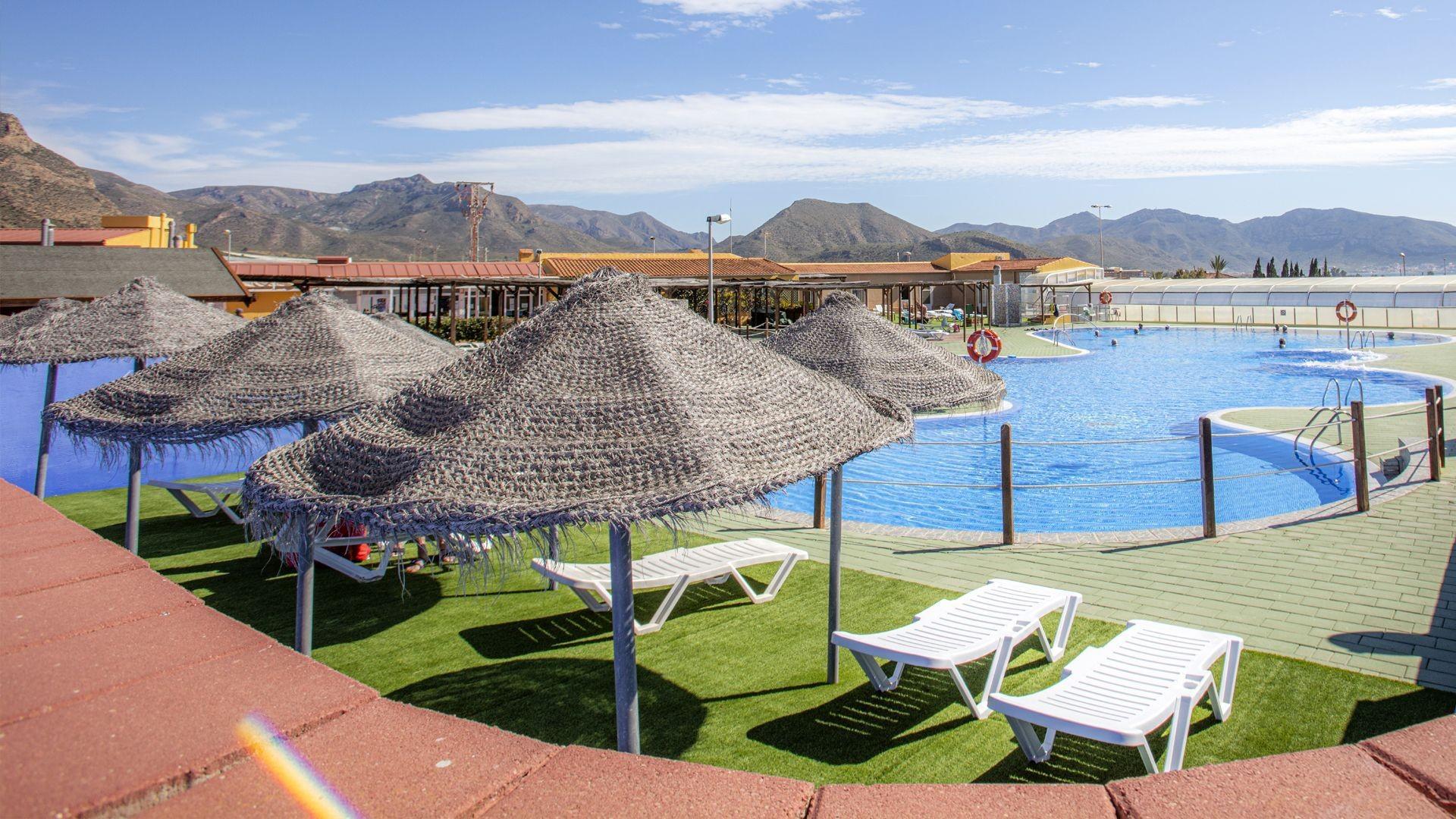 Camping con piscina en Cartagena