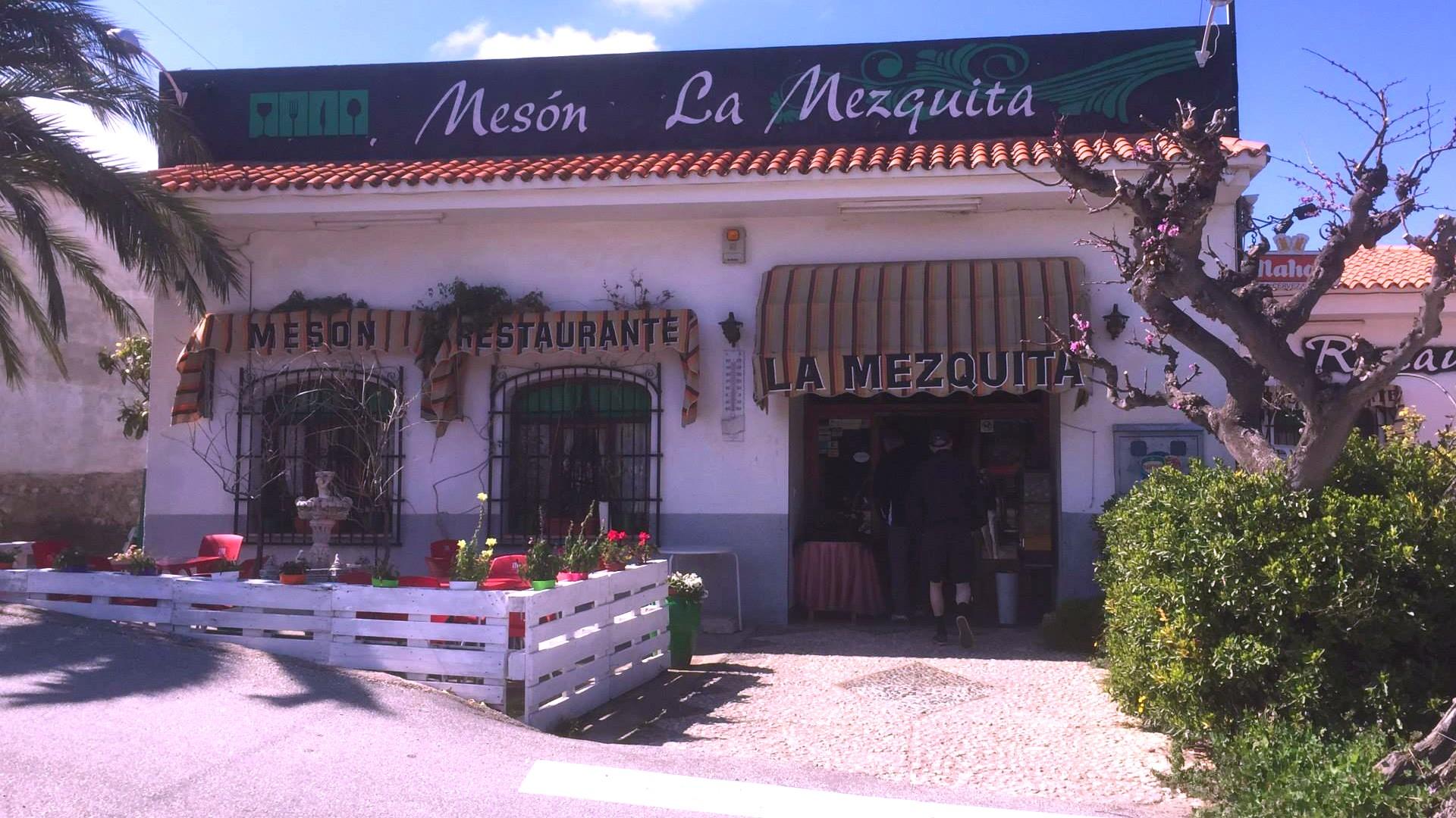 Restaurantes Beniardá Alicante Meson La Mezquita