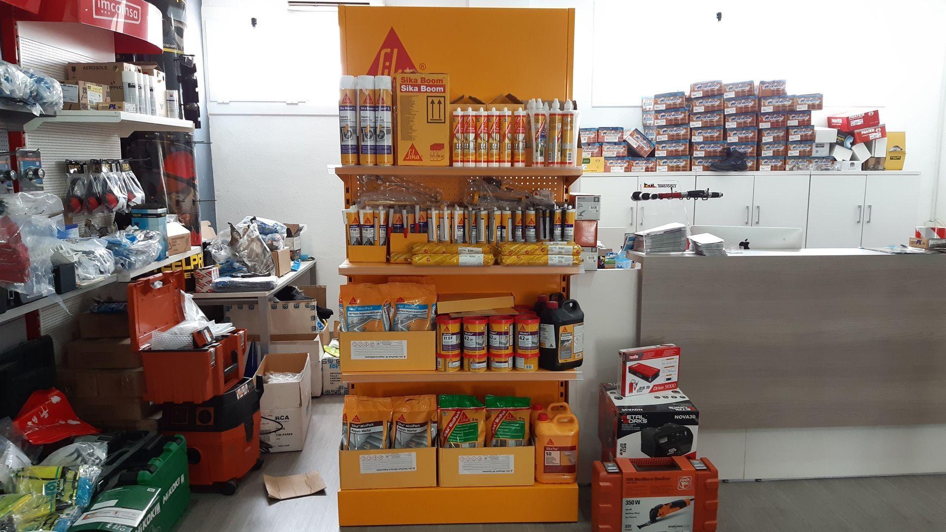 Herramientas y maquinaria para profesionales en Barcelona