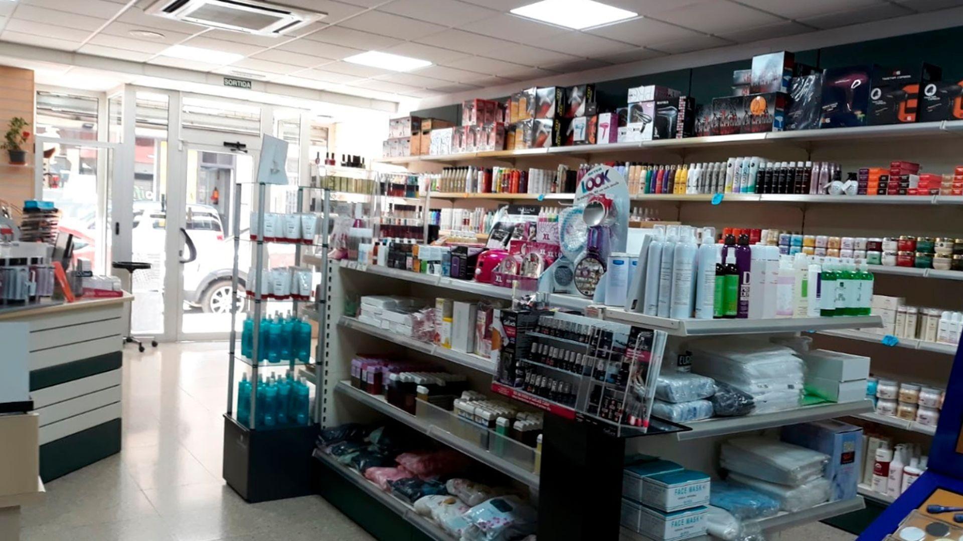 Venta de productos para peluquería en Girona