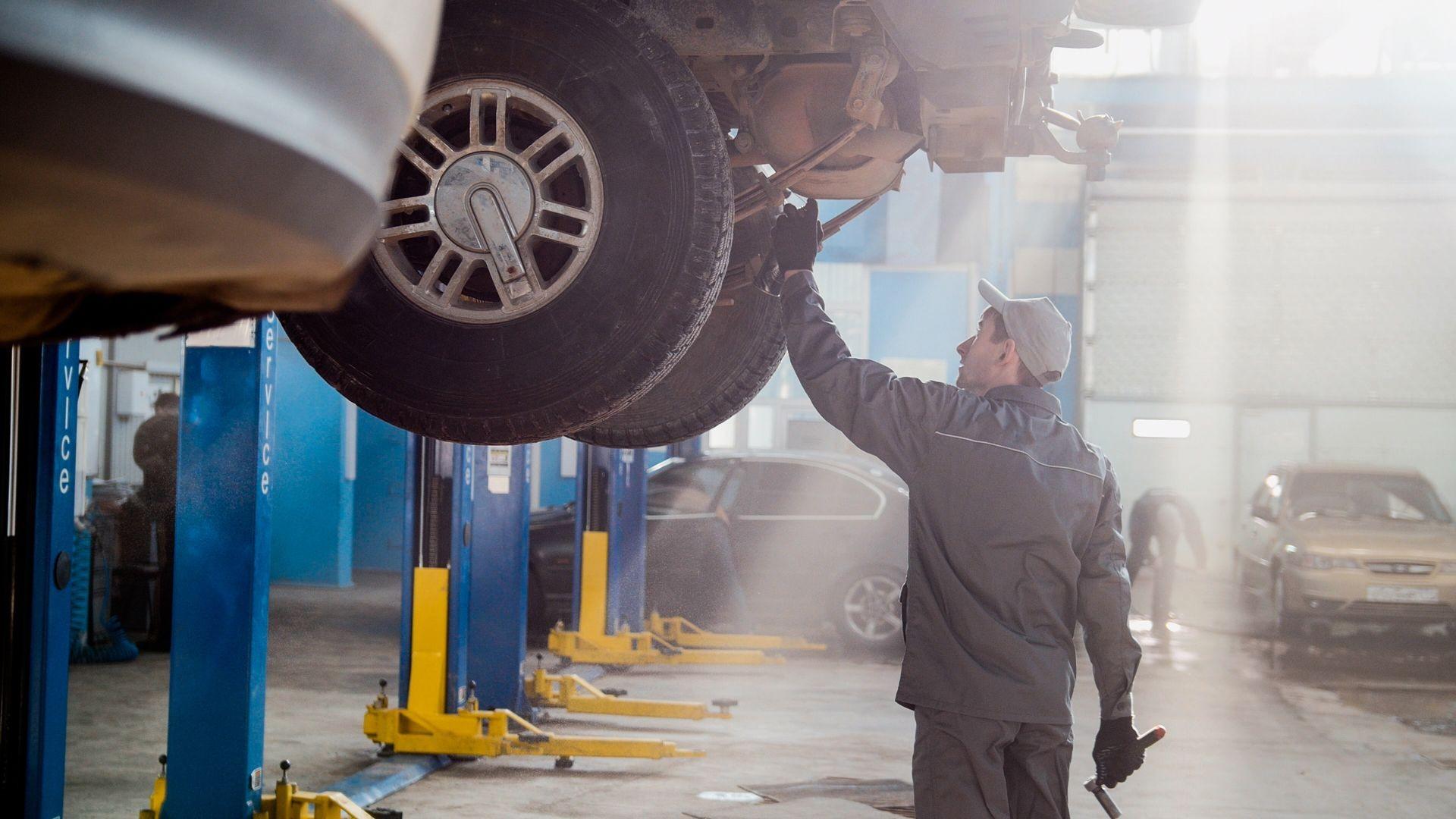 Taller de neumáticos  en León