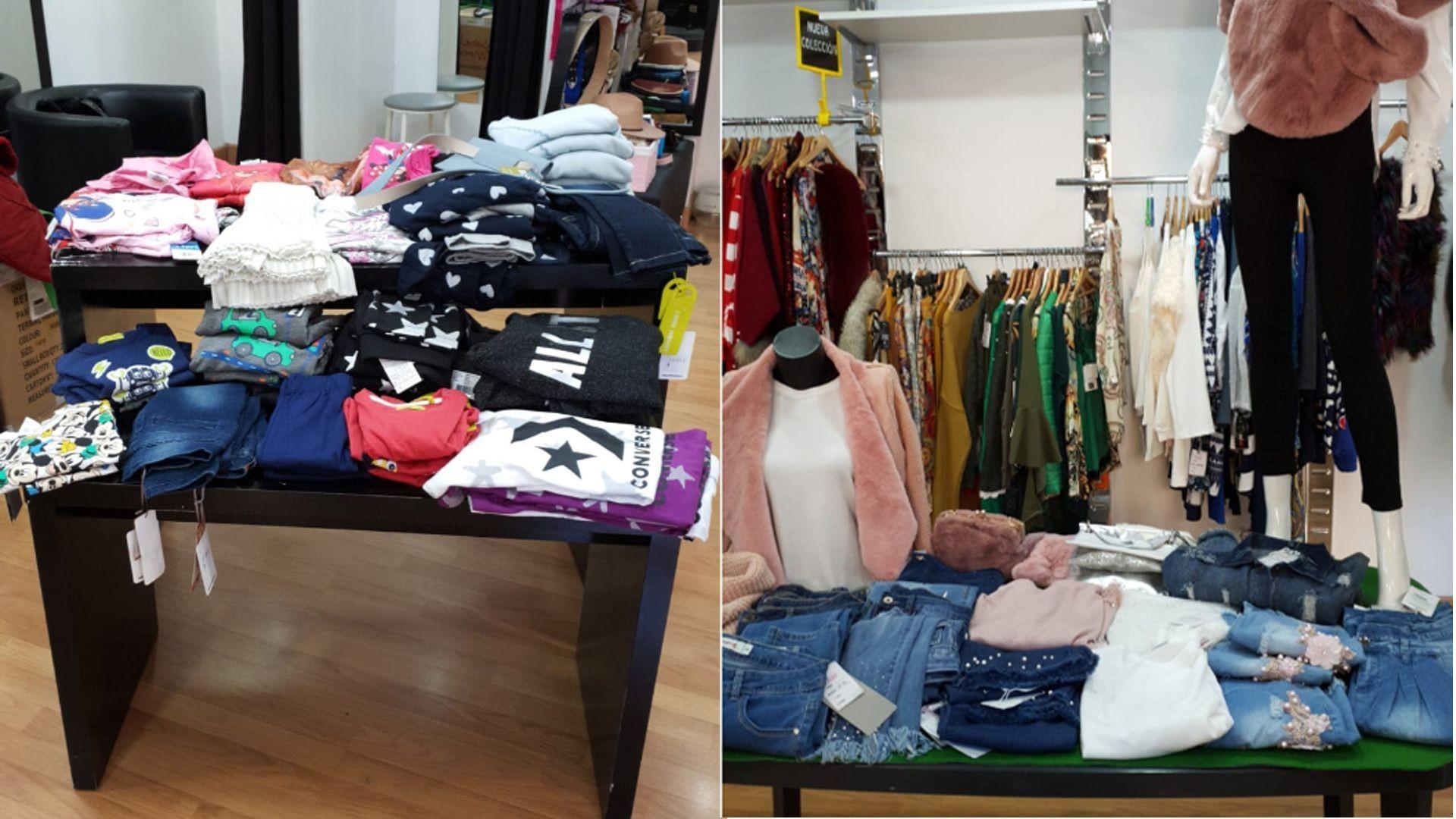 Tienda de ropa enn Alicante