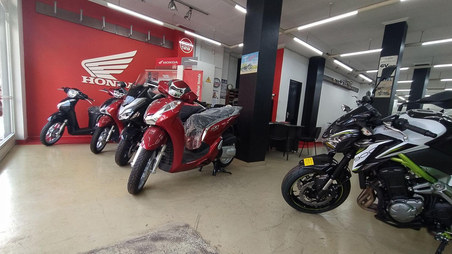 Venta de motos en Barcelona