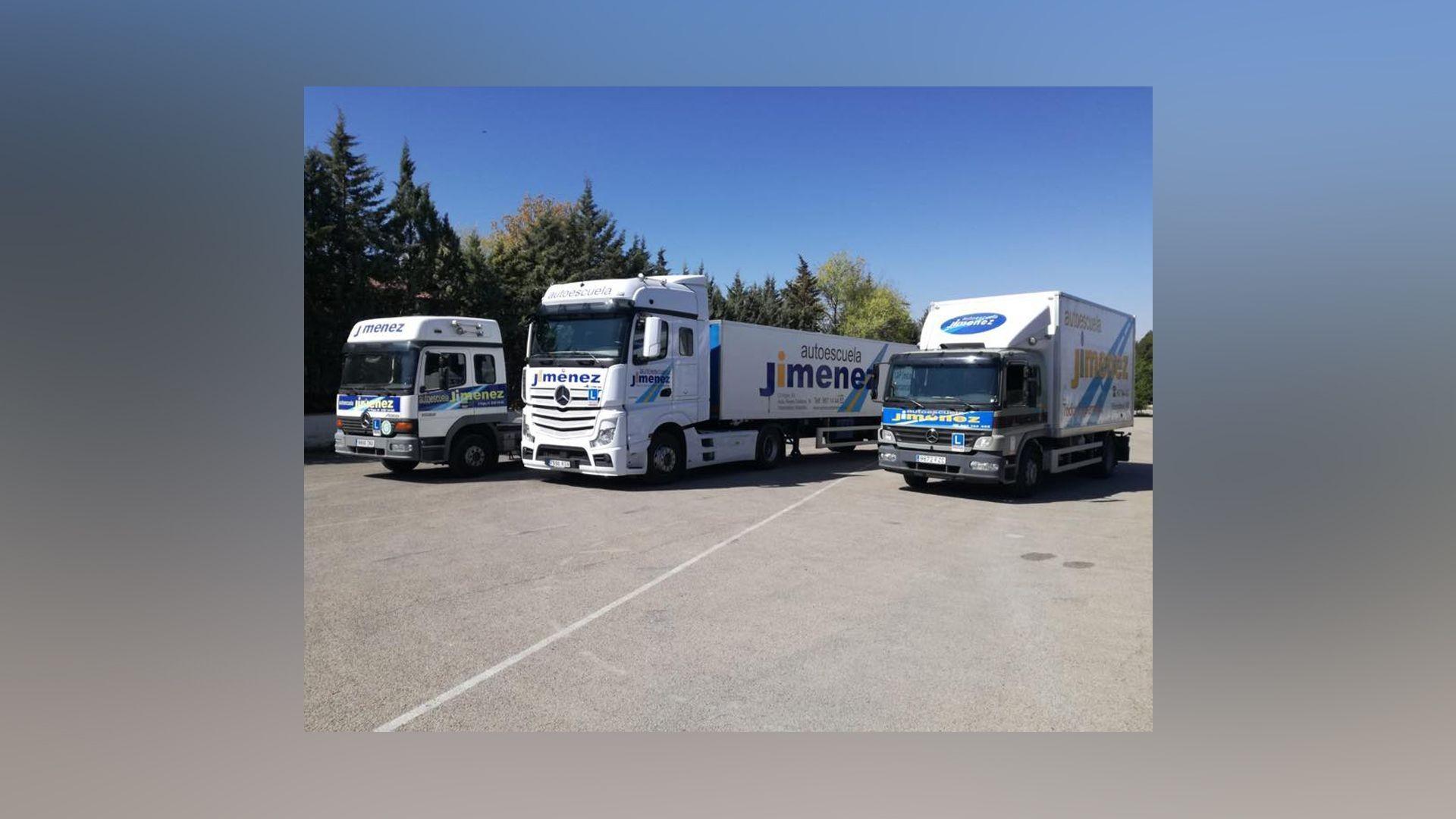 Permiso para conducir camiones en Albacete