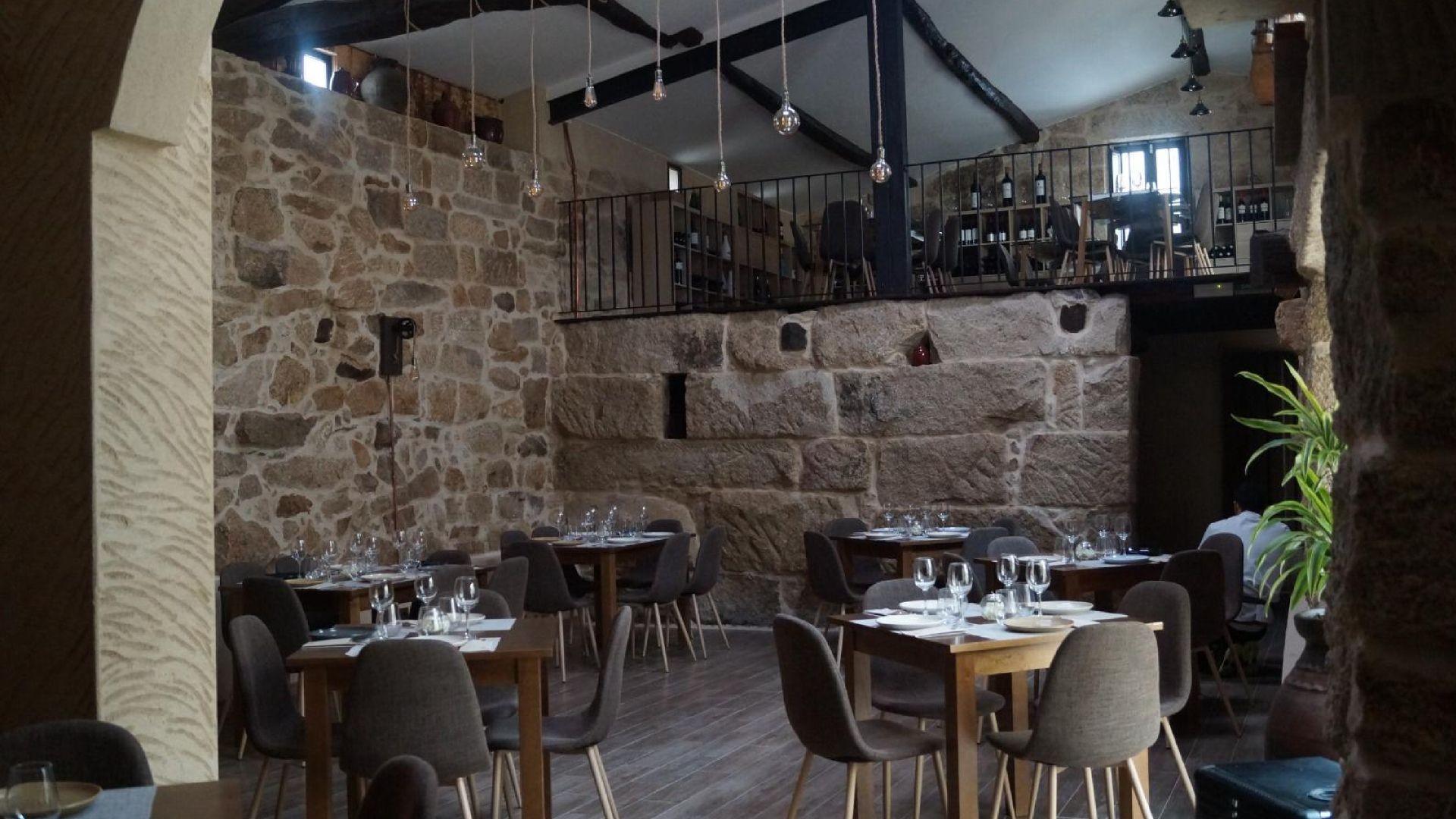Restaurante con vinoteca en Nogueira de Ramuín