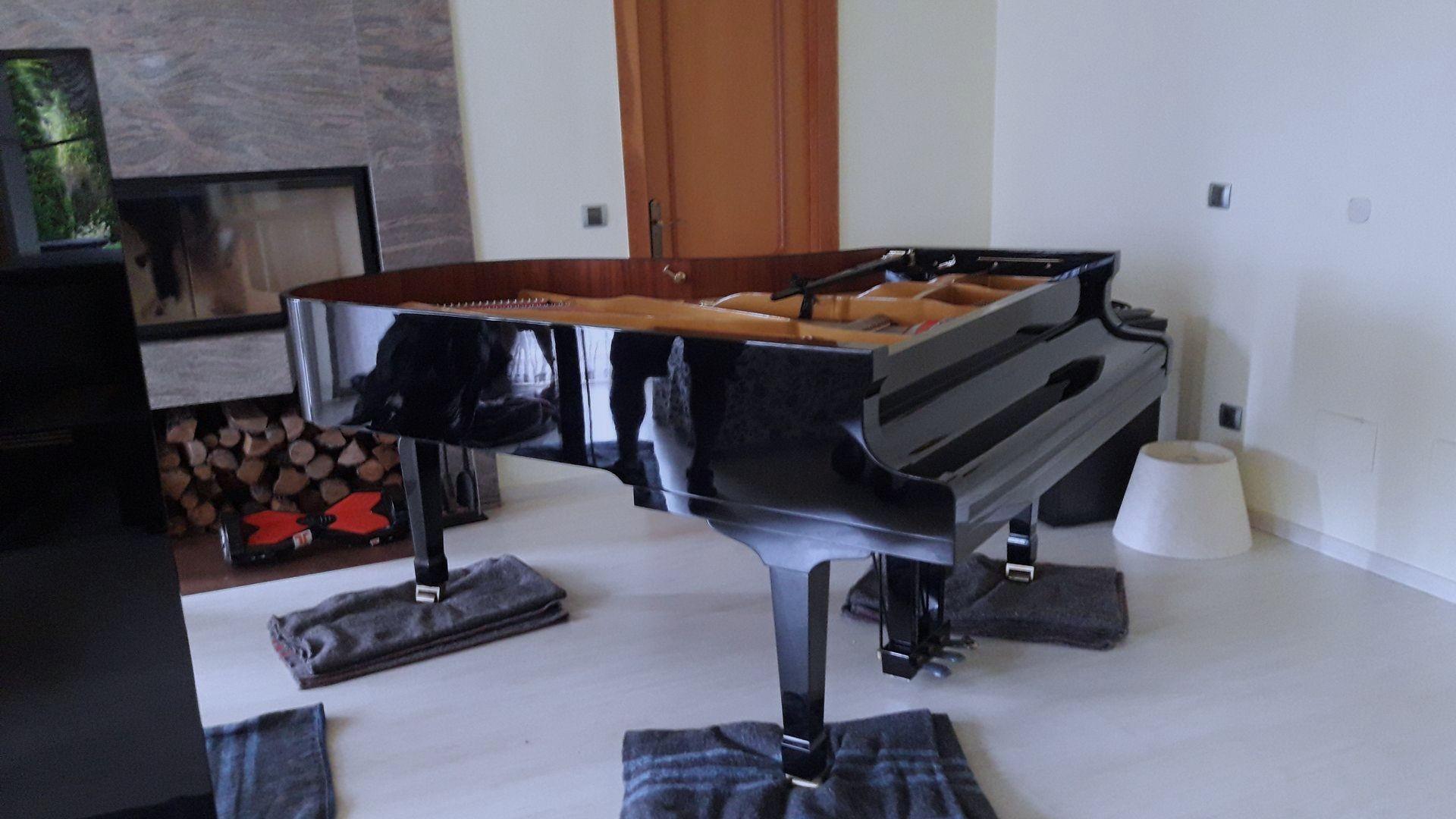 Empresa de transportes especialista en pianos en Barcelona