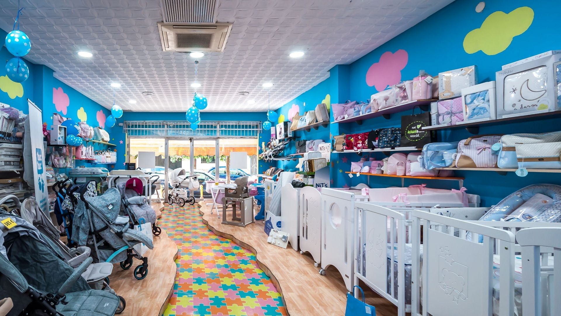 Tienda on line artículos para bebé Sevilla