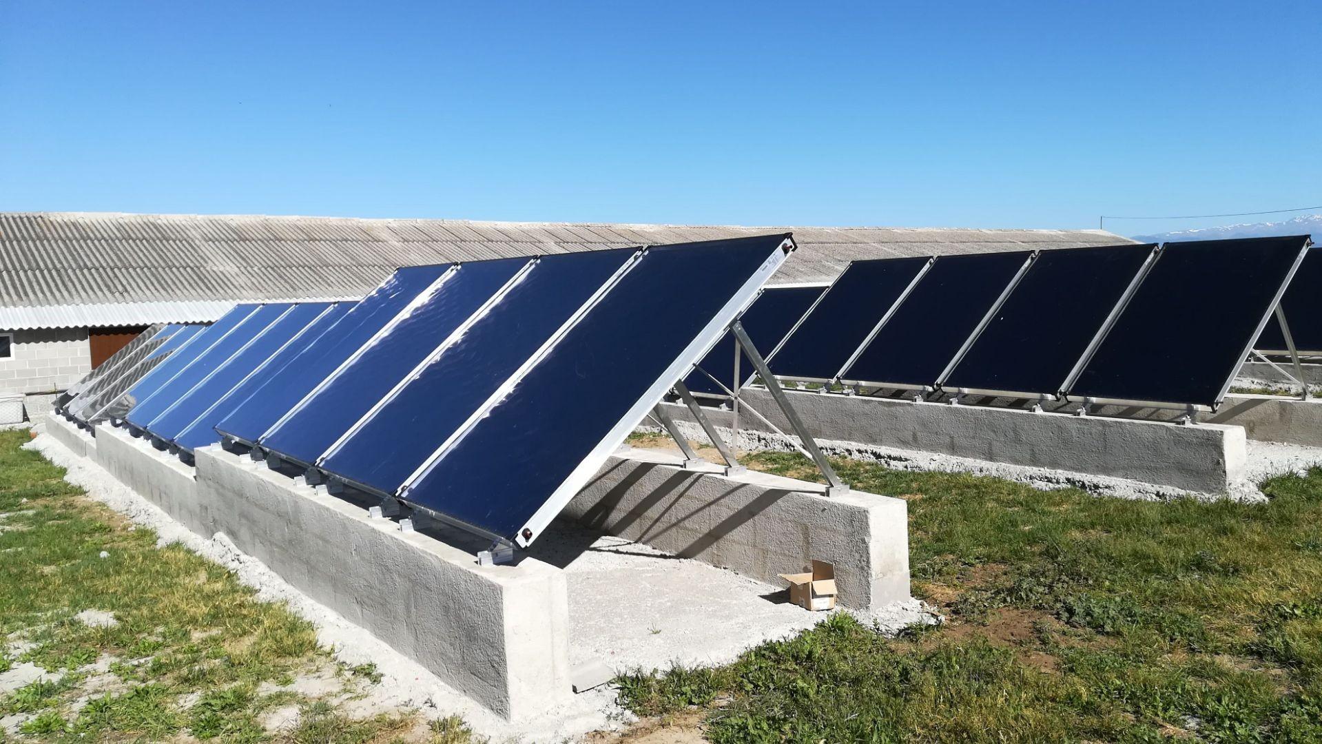 Control de placas fotovoltaicas térmicas