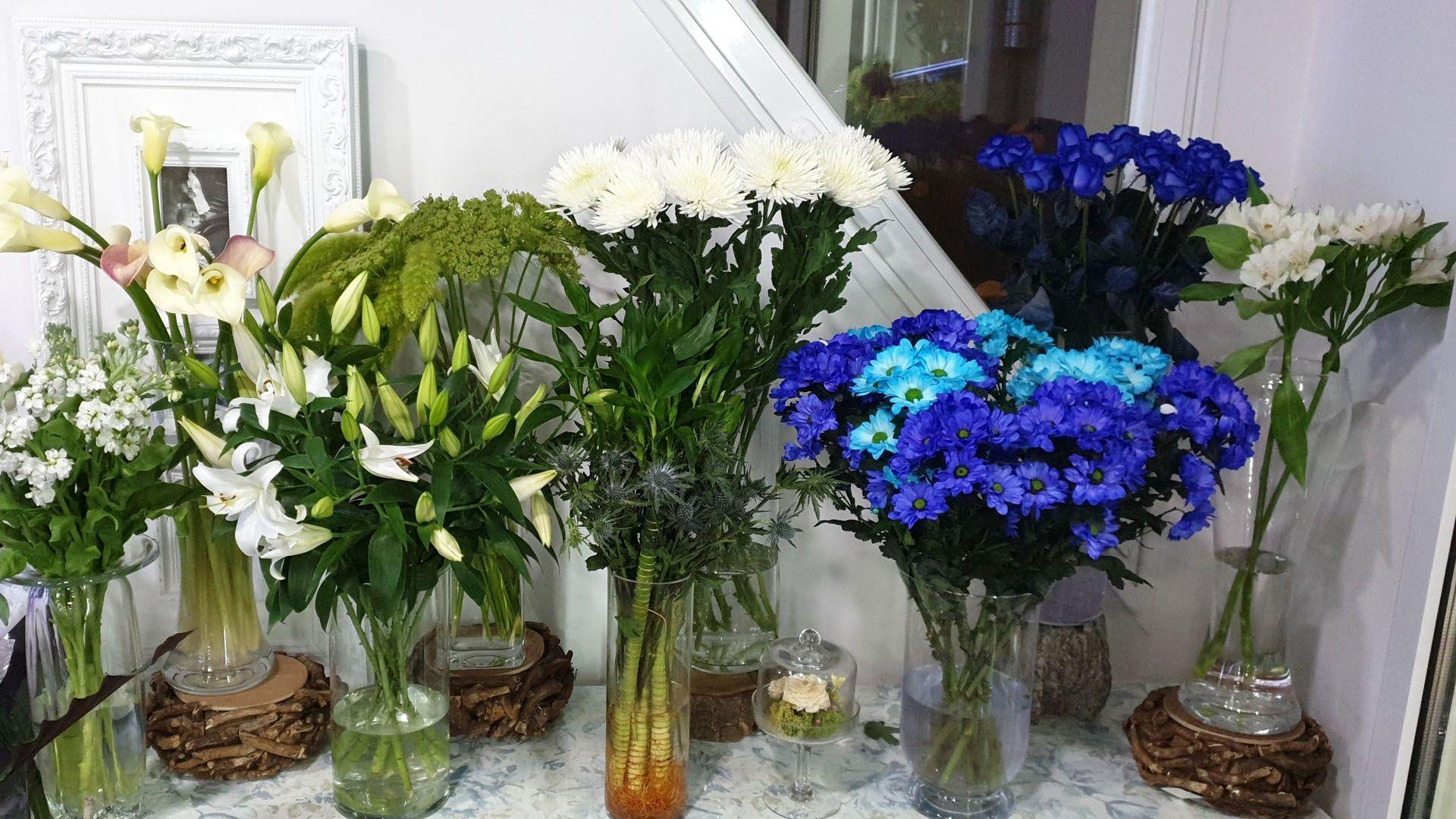 Venta de flores en Madrid