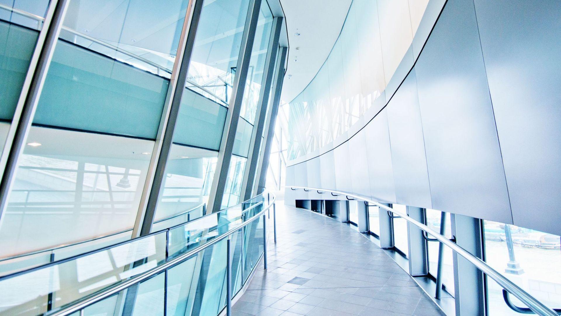 000 cristaleria cristal aluminio barandilla oficina