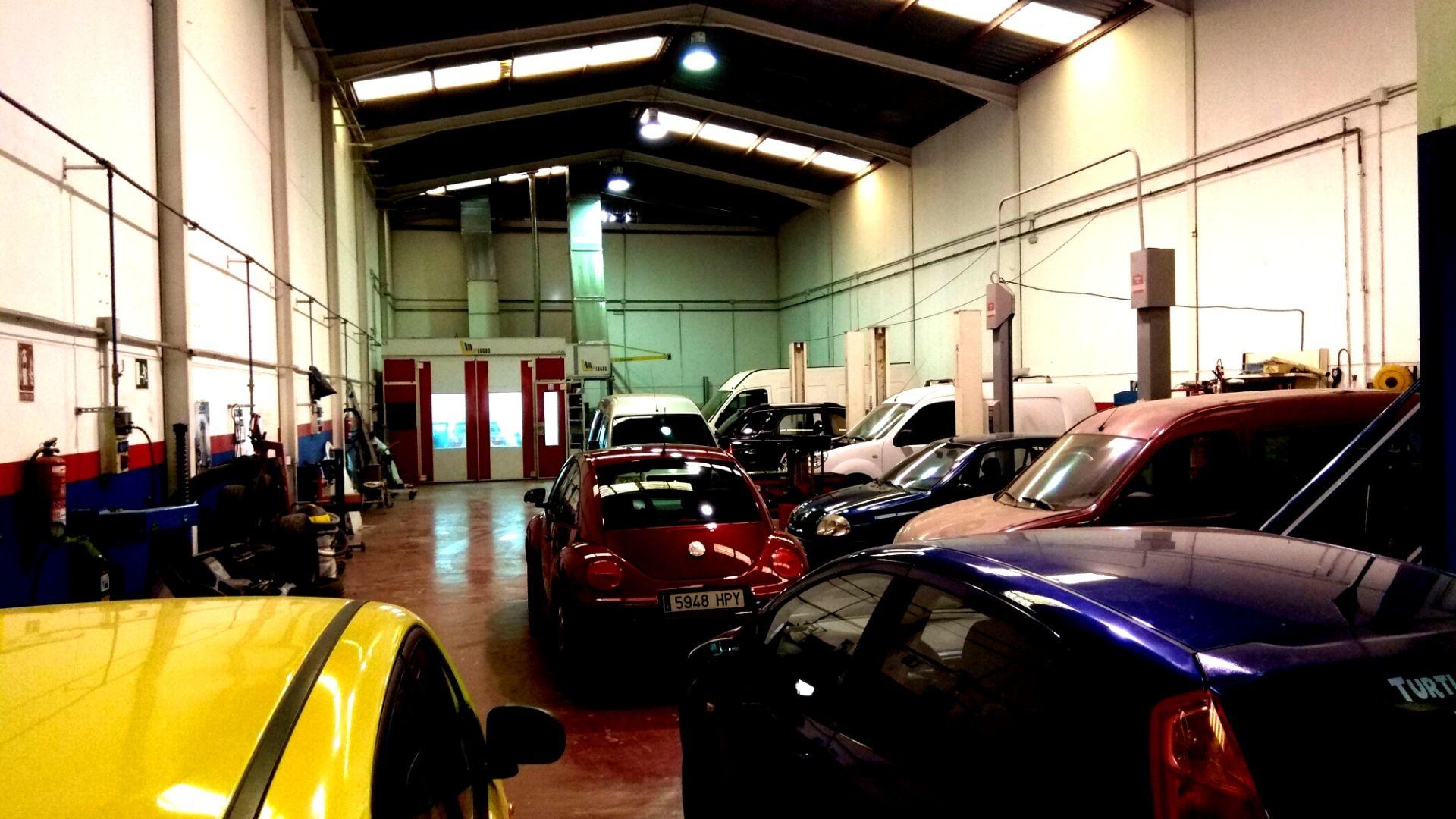Taller de reparación de coches san vicente del raspeig