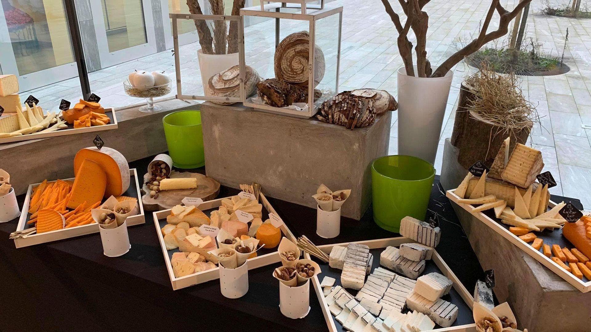 Mesas de quesos para eventos en Albacete