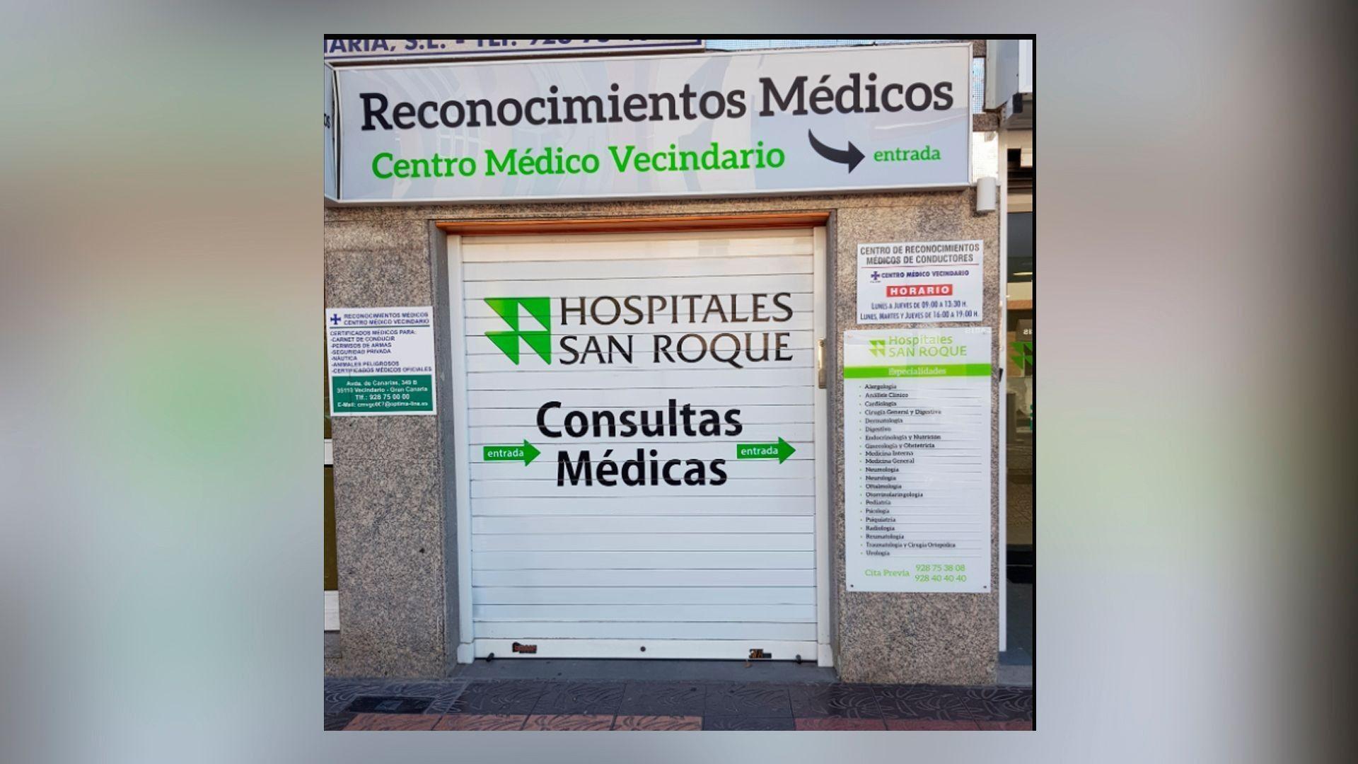 Reconocimientos médicos en Canarias