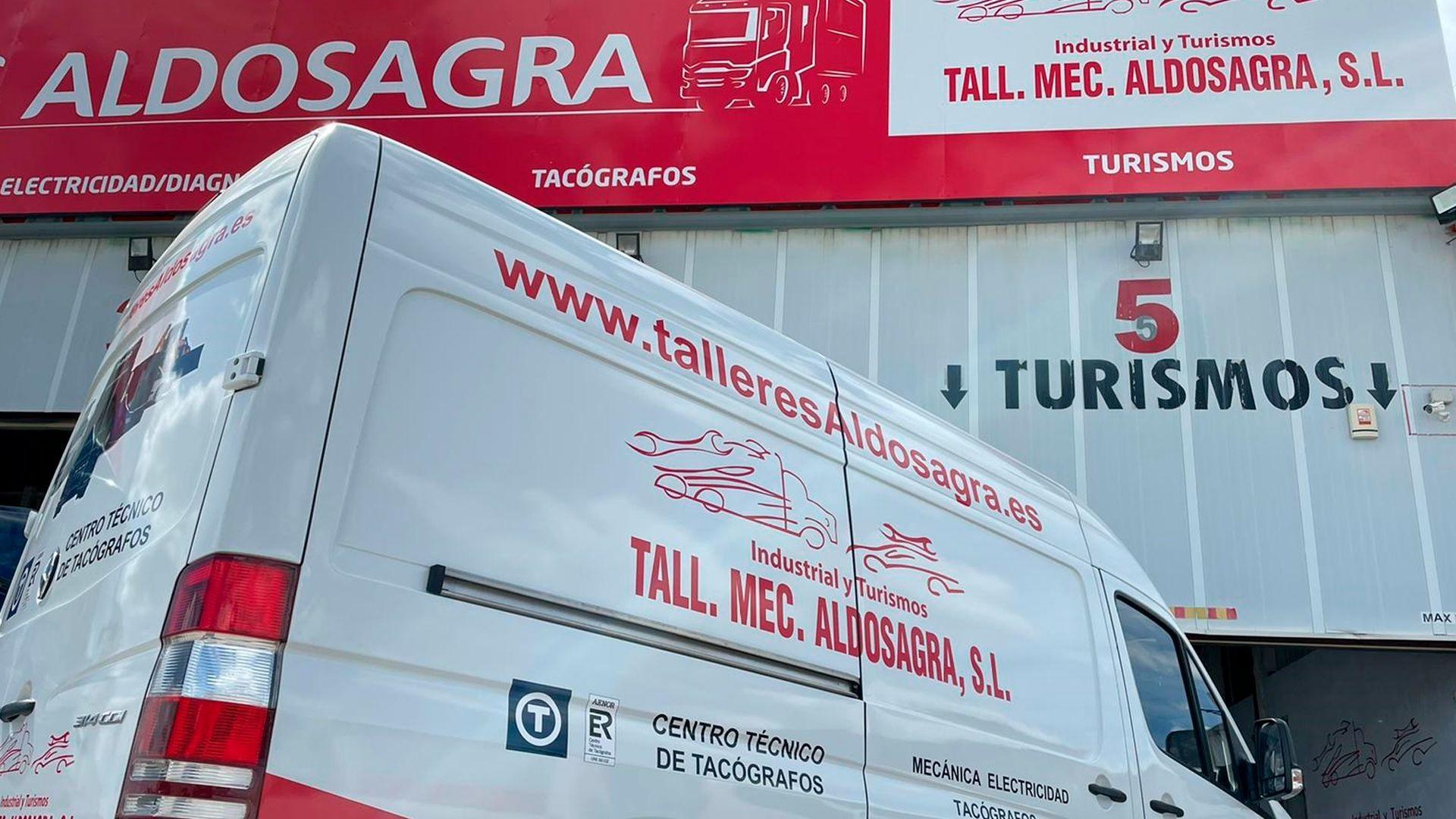 Talleres de reparación de vehículos en Alameda de la Sagra