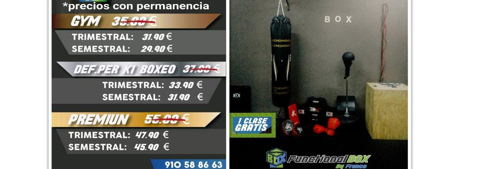 Clases de boxeo en Leganés: Functional Box By Franco