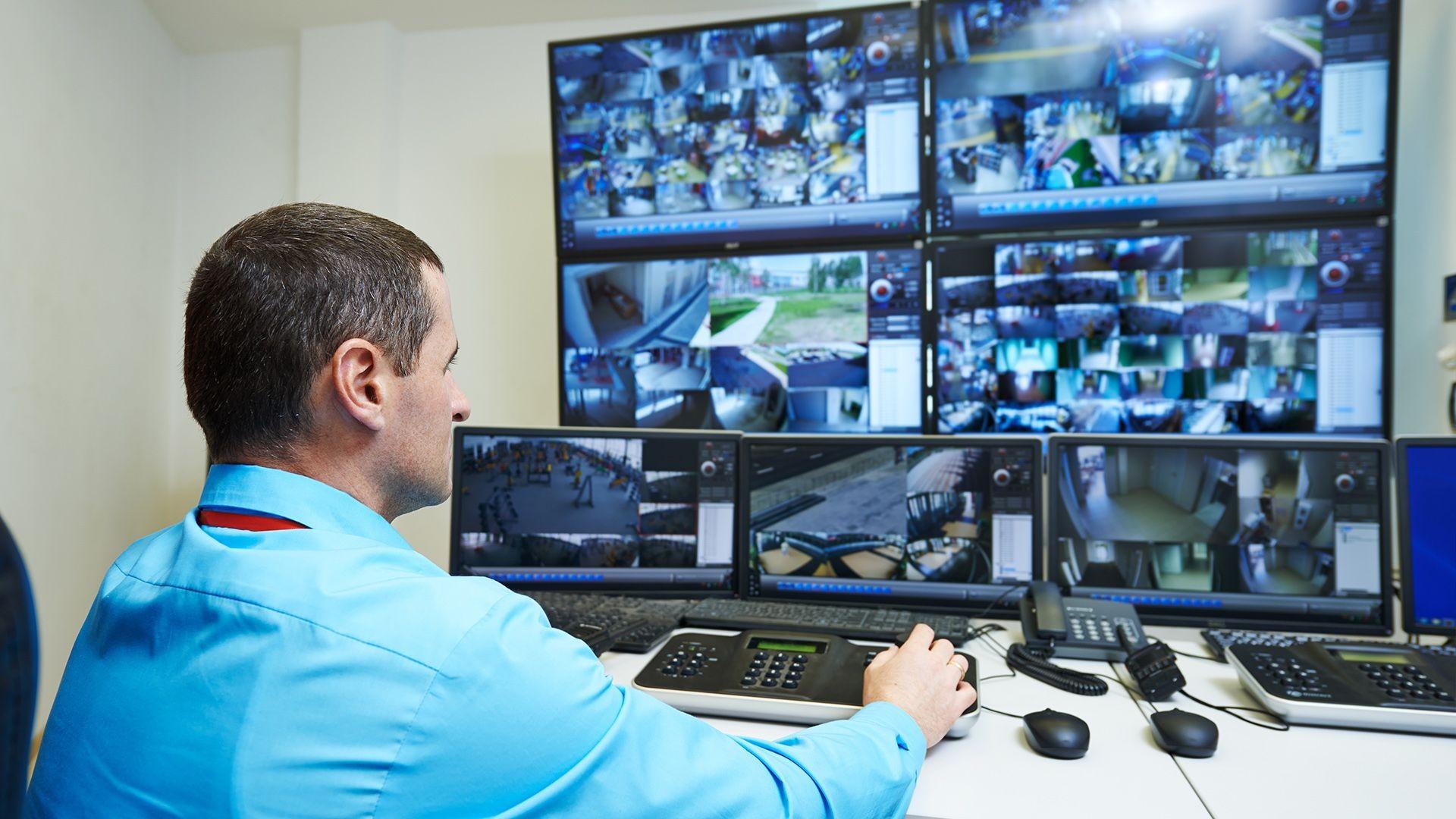 Vigilancia y seguridad de polígonos industriales