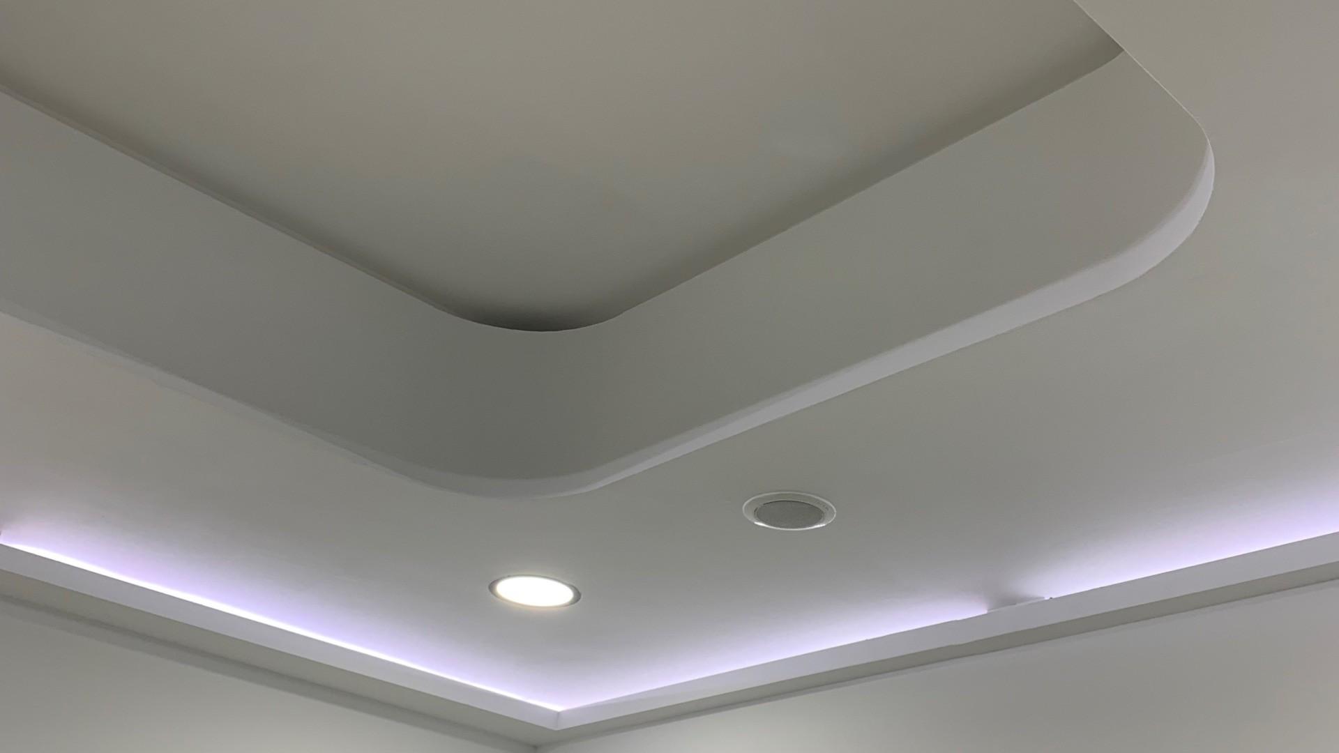 Trabajo realizado en clinica dental. techos decorativos