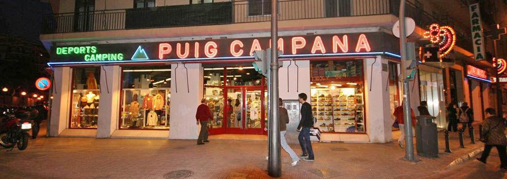 Tiendas de deporte en València | Deportes Puig Campana