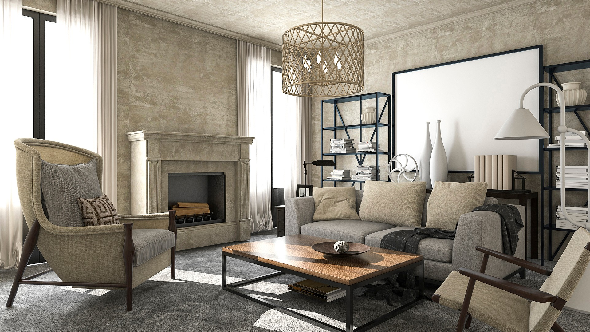 000 decoración muebles salon  reformas casa diseño (3)