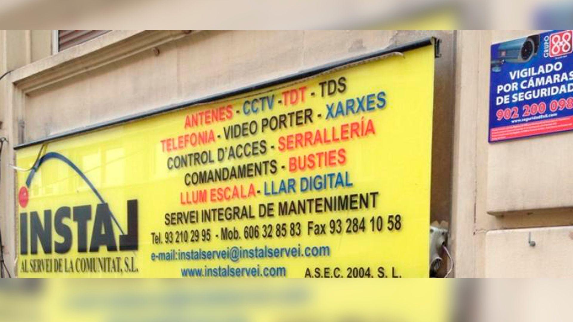 Sistemas de cámaras de seguridad, videoporteros y antenas en Gràcia, Barcelona