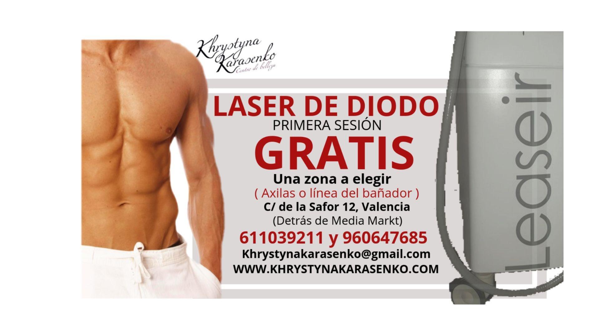 Depilación láser Diodo Valencia | sesión gratuita
