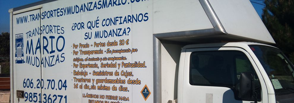 Mudanzas baratas en Asturias   Transportes Mario