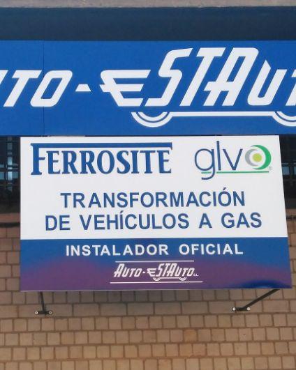 Taller especializado en transformación de vehículos a gas