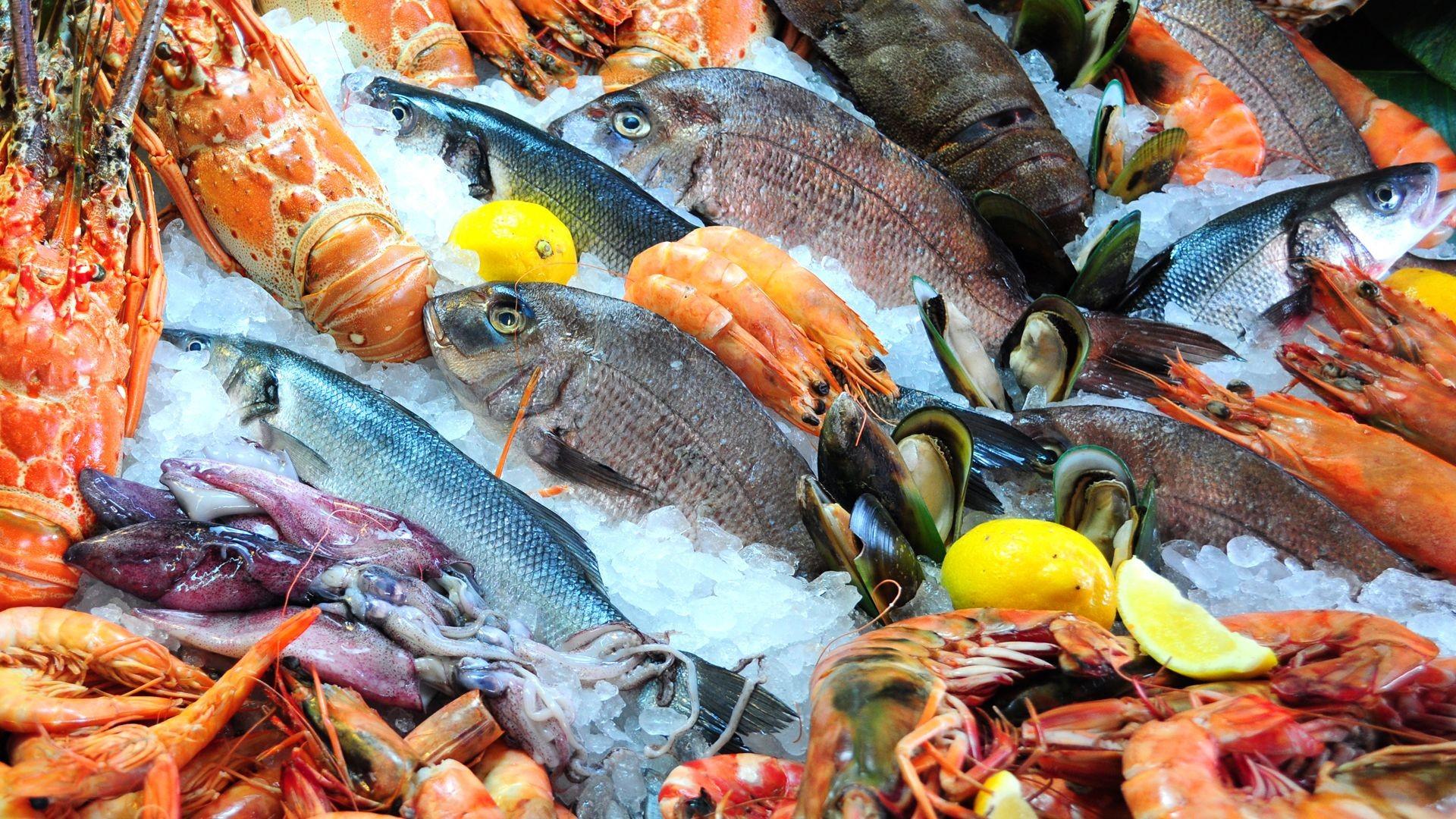 Pescadería y marisquería en Atocha madrid