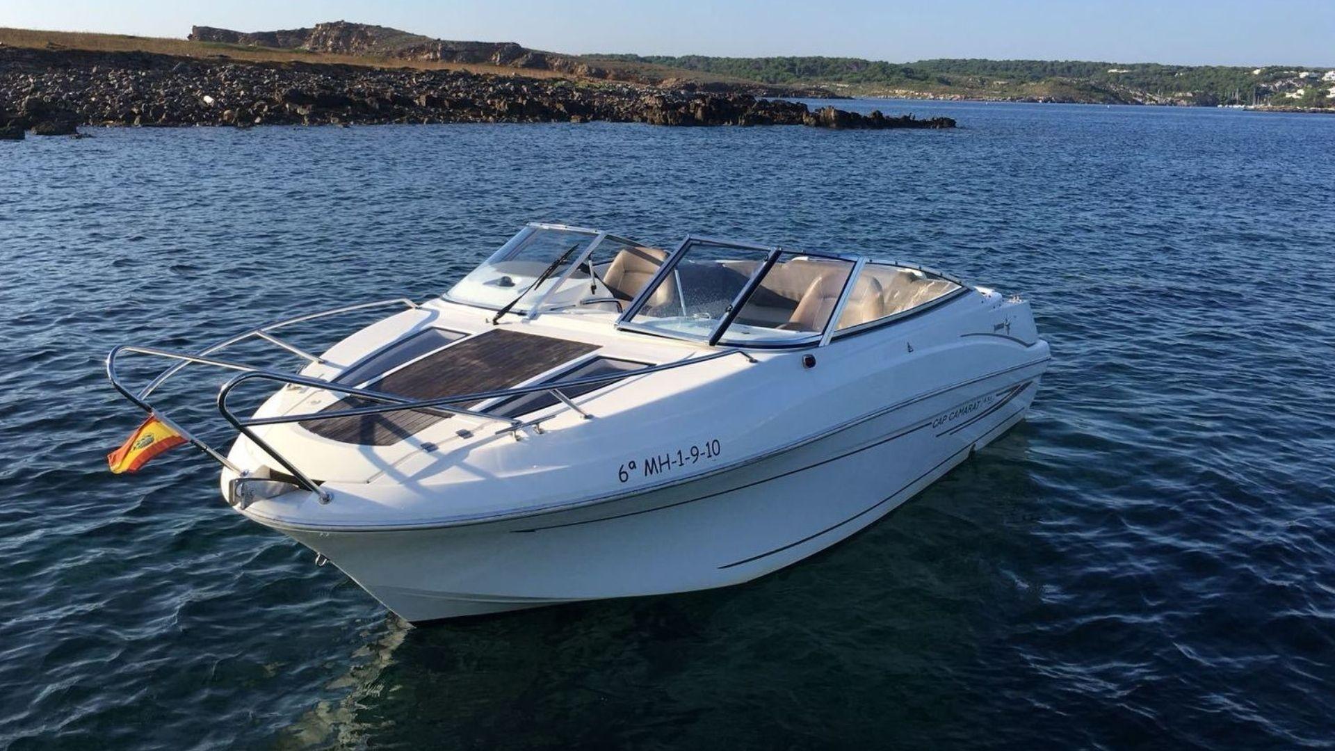 Alquiler de barcos en Menorca