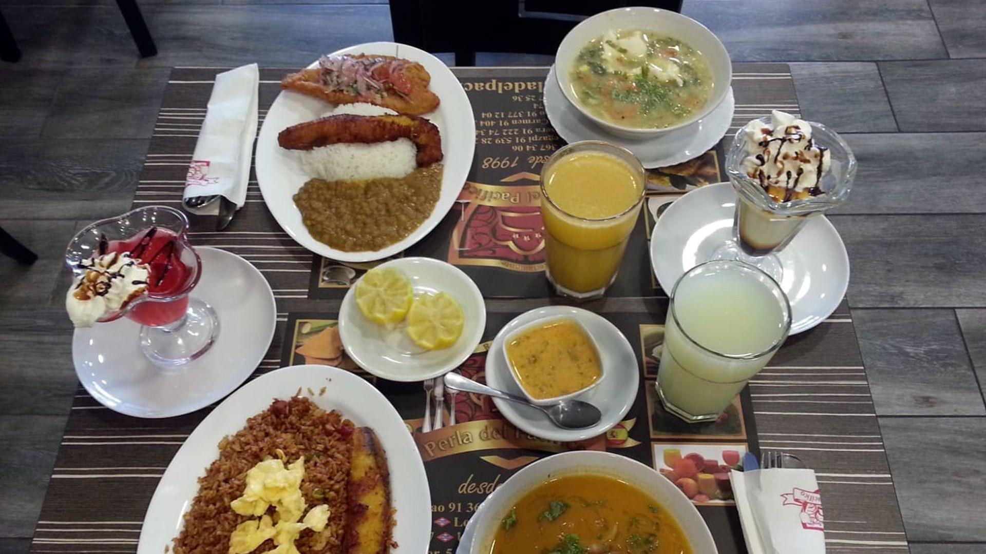 Restaurante ecuatoriano en Madrid