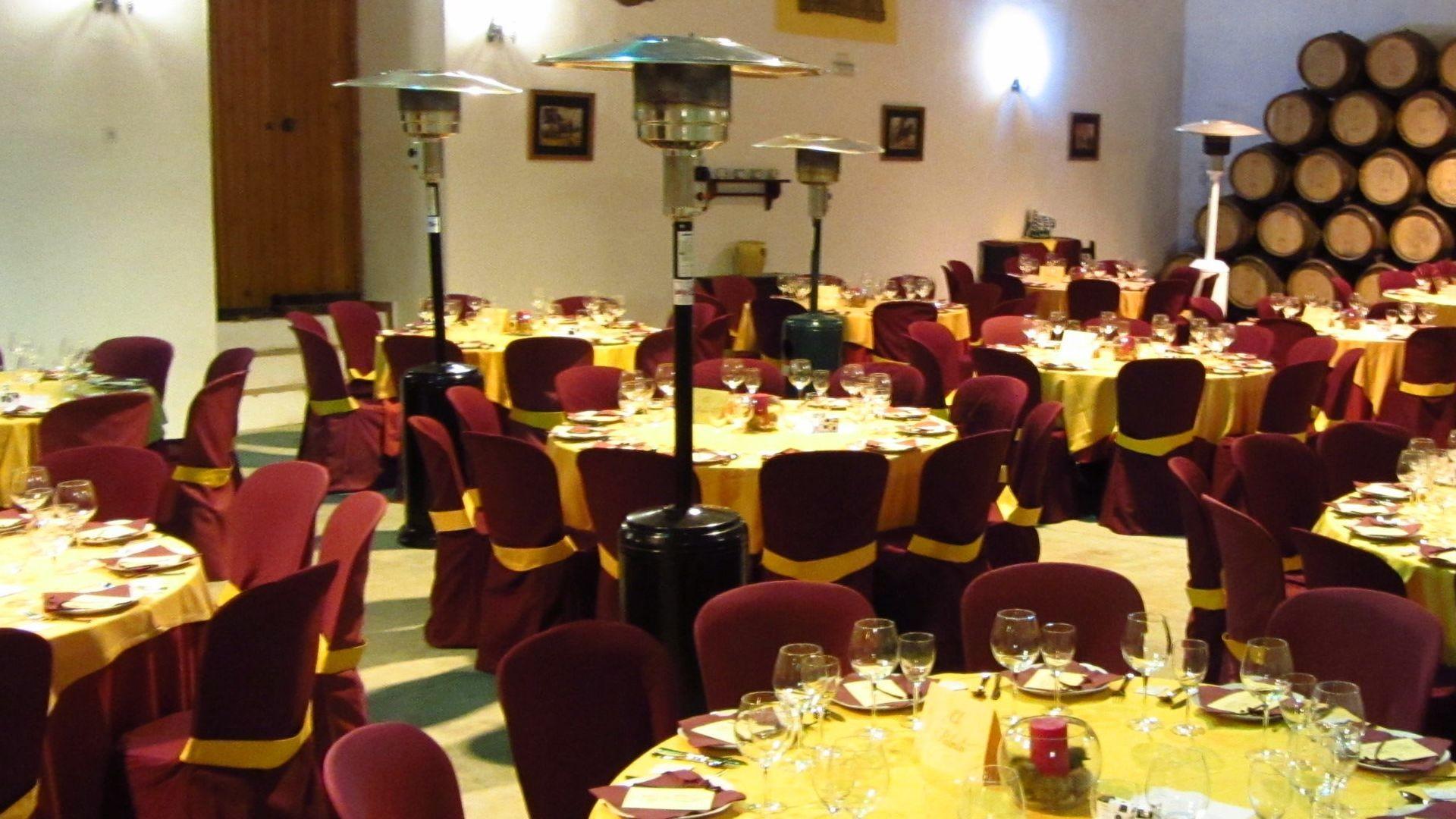 Alquiler de mobiliario para eventos Cádiz