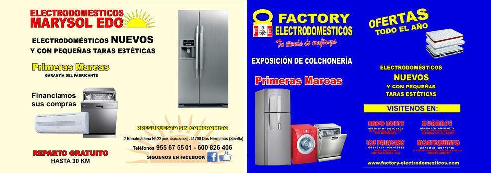 6dcbeb67bd5 Electrodomésticos y colchones en Dos Hermanas | Factory ...