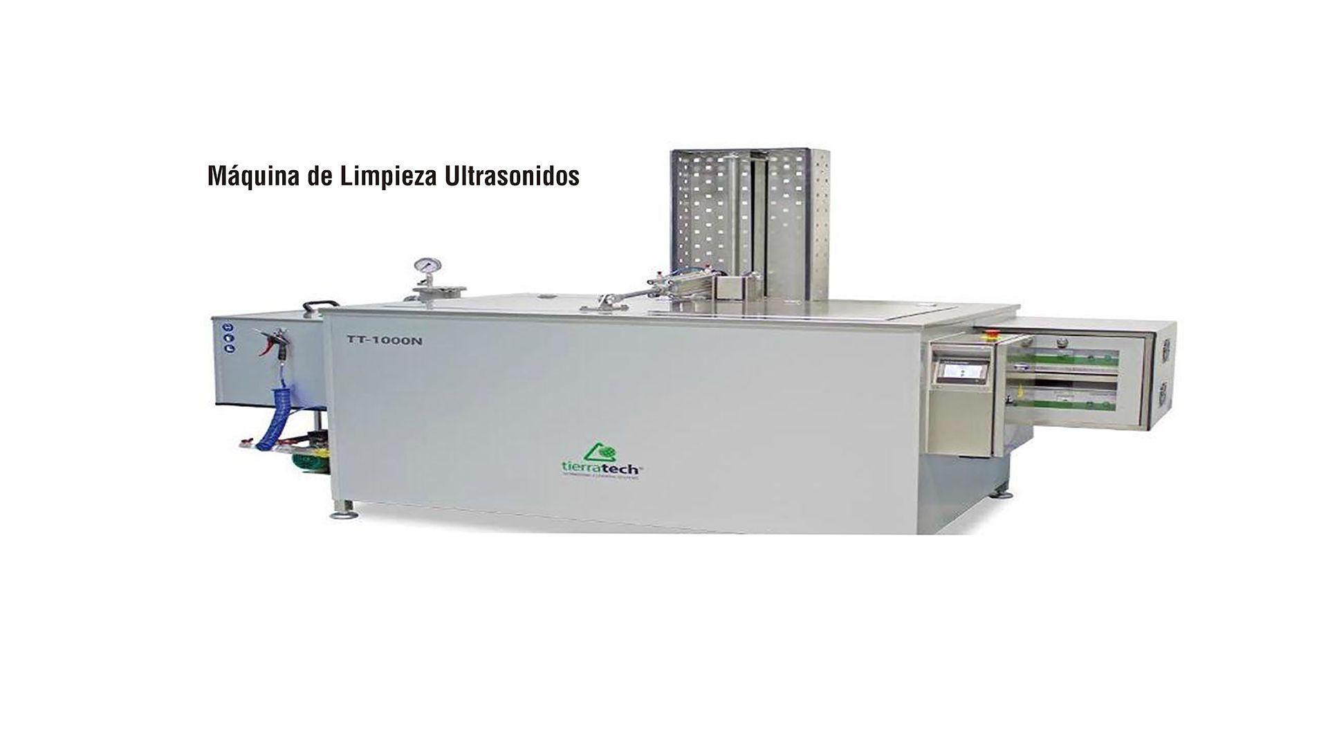 Máquina de limpieza ultrasonidos